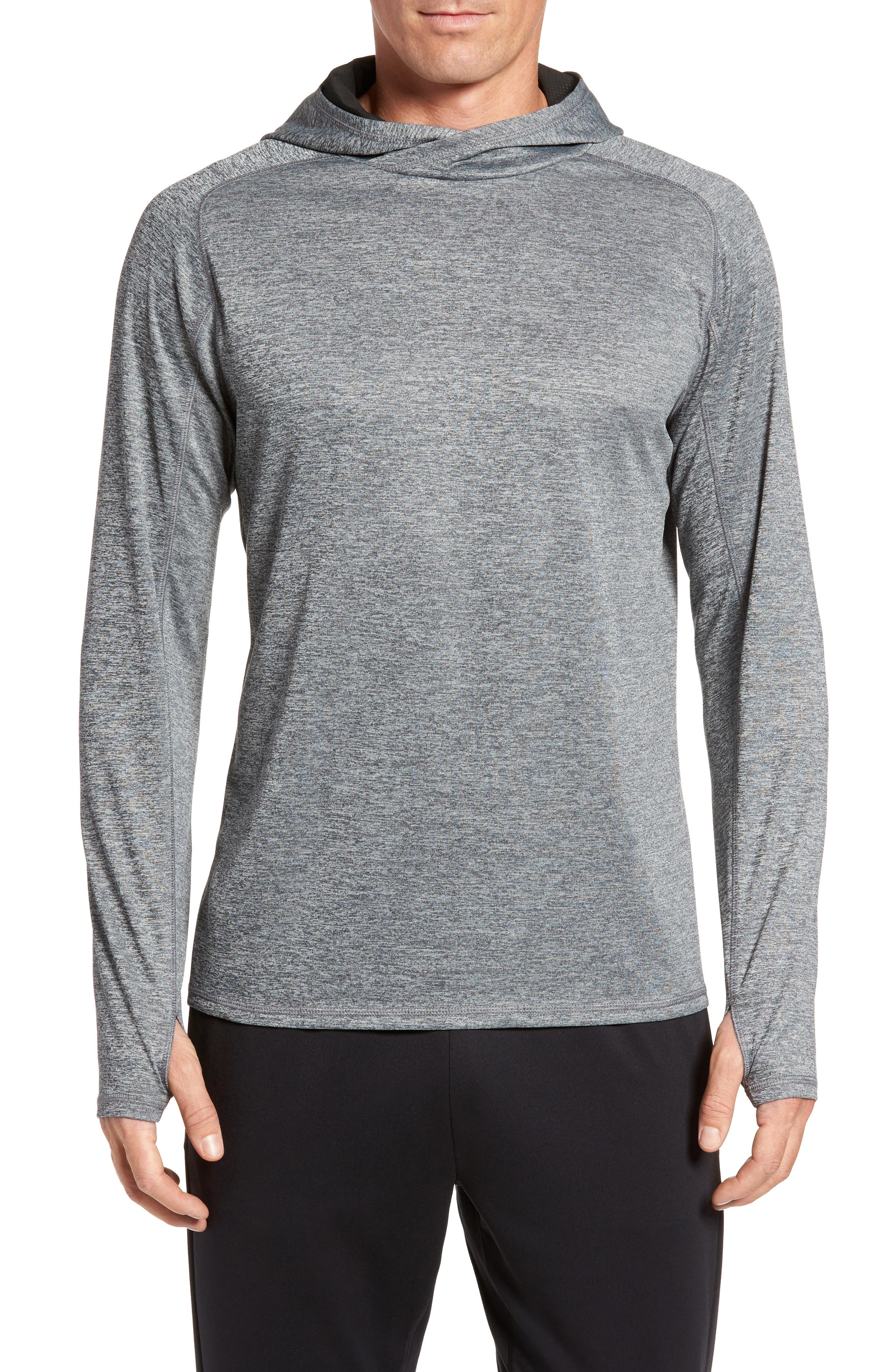 Lightweight Pullover Hoodie,                             Main thumbnail 2, color,