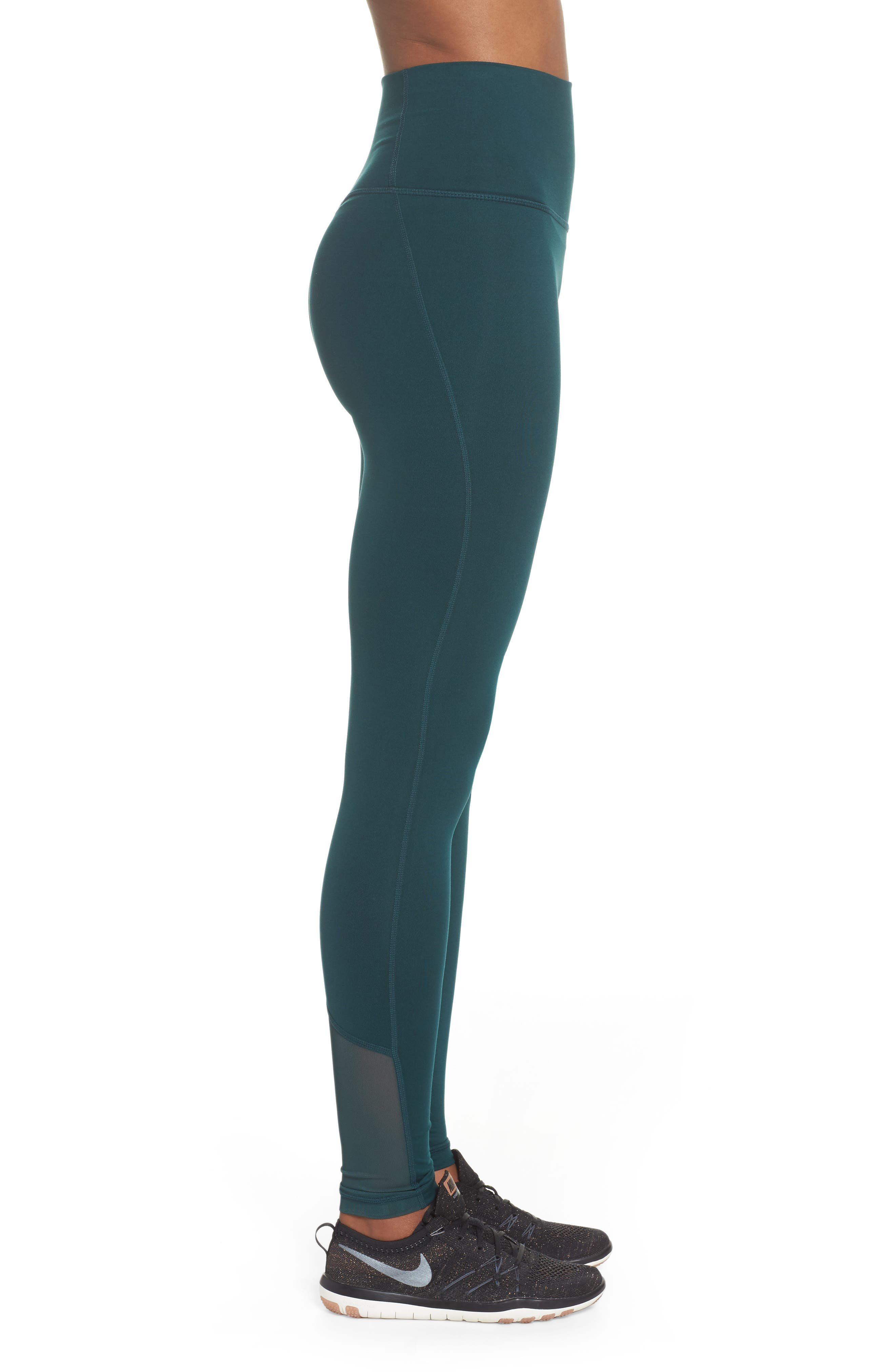 High Waist Asana Light Leggings,                             Alternate thumbnail 3, color,                             301