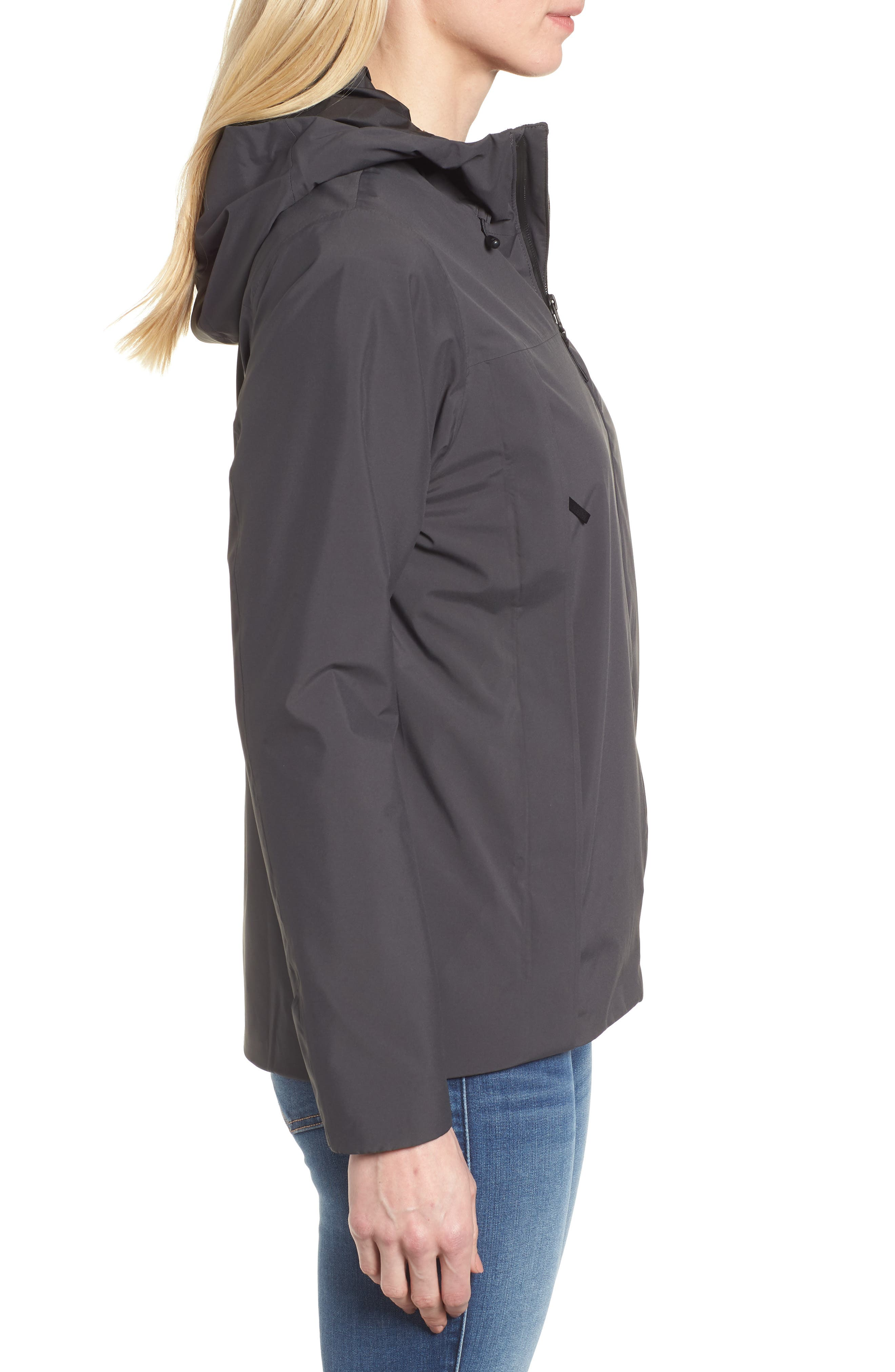 Yosemite Falls Hooded Jacket,                             Alternate thumbnail 3, color,                             001
