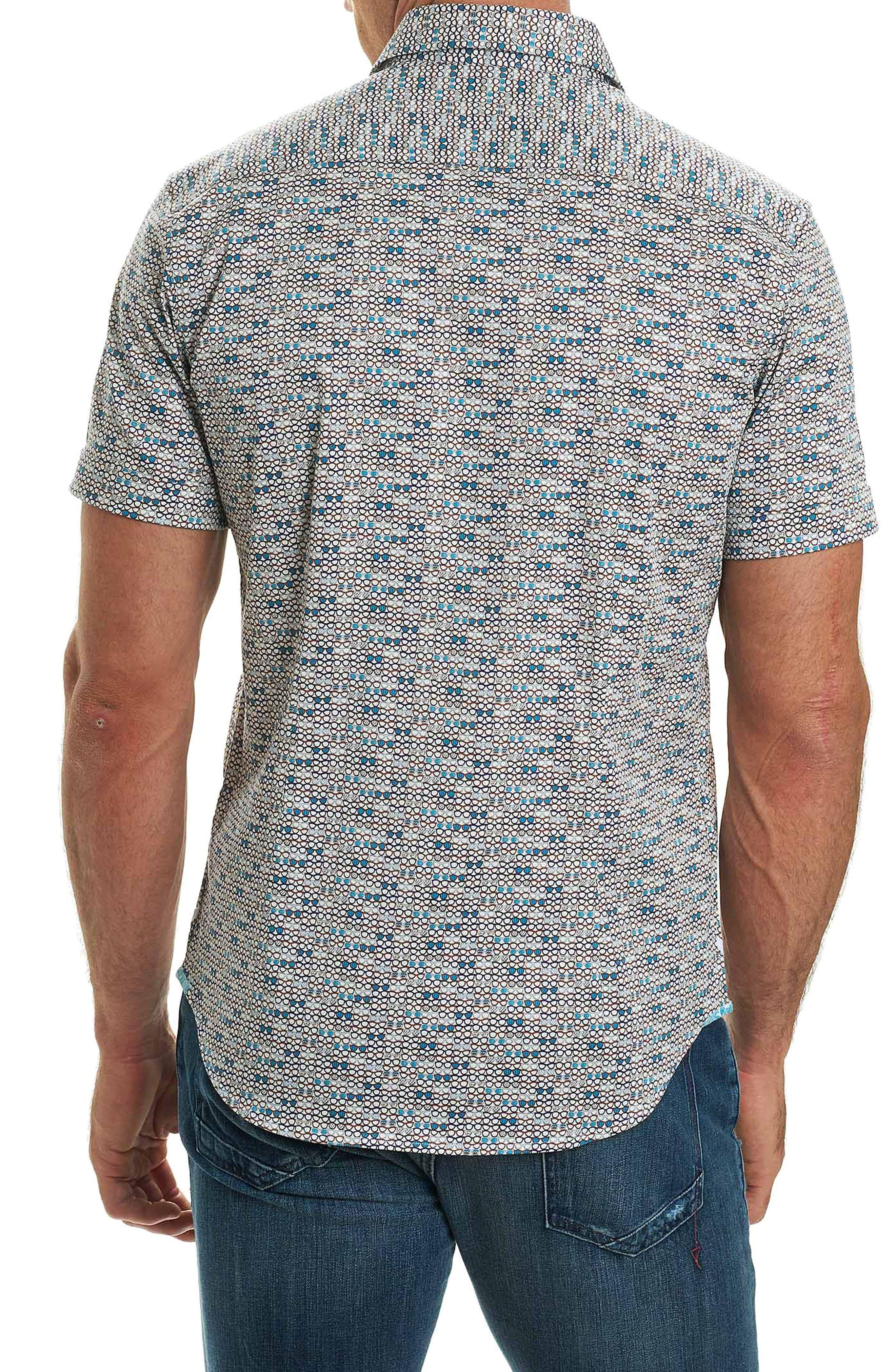 Colton Print Sport Shirt,                             Alternate thumbnail 2, color,