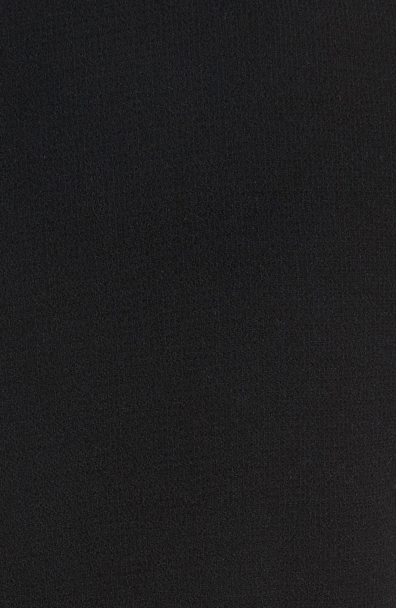 Cascade Tweed Shift Dress,                             Alternate thumbnail 5, color,                             188