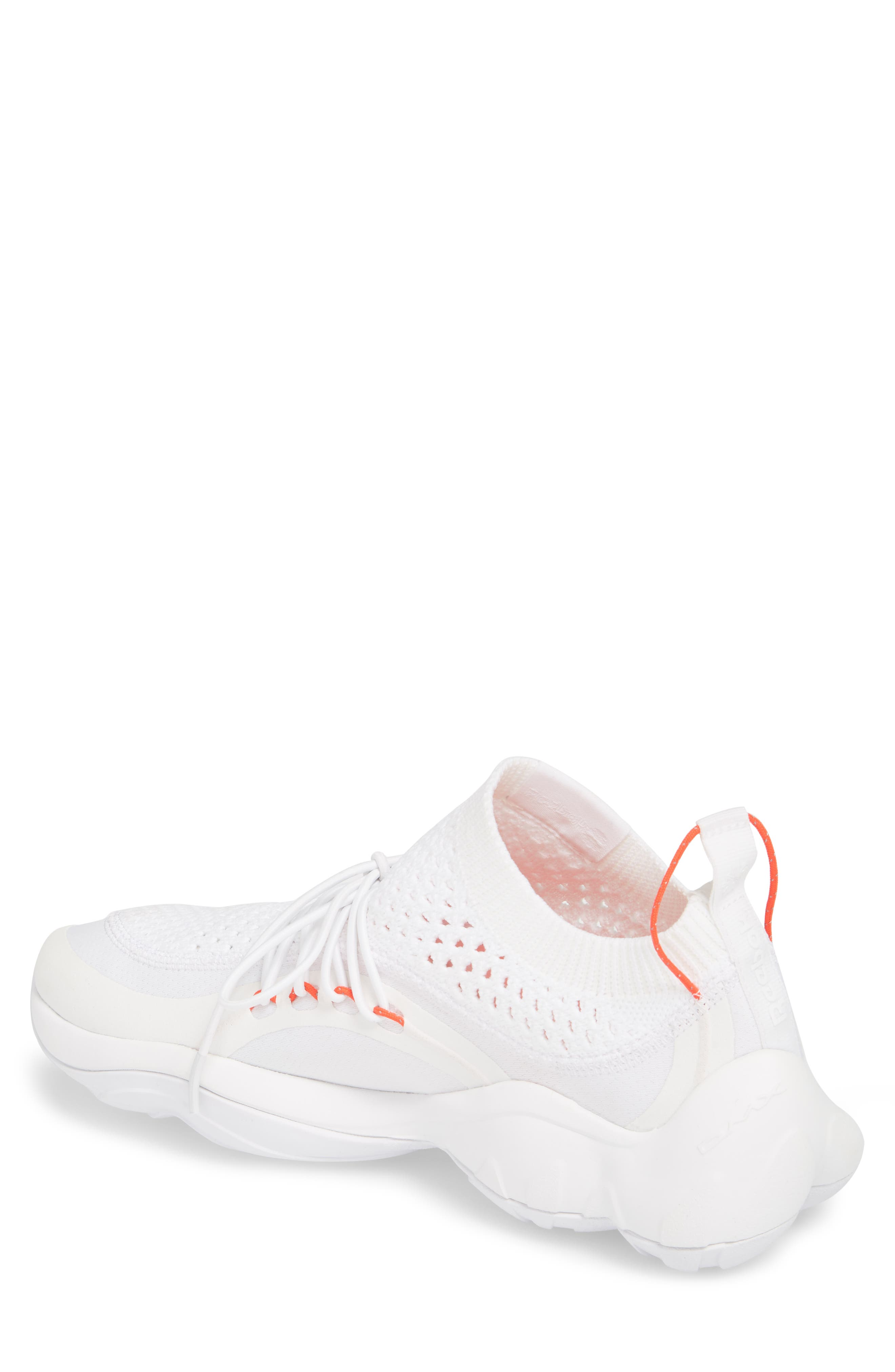 DMX Fusion NR Sneaker,                             Alternate thumbnail 2, color,                             WHITE/ BLACK/ NEON CHERRY