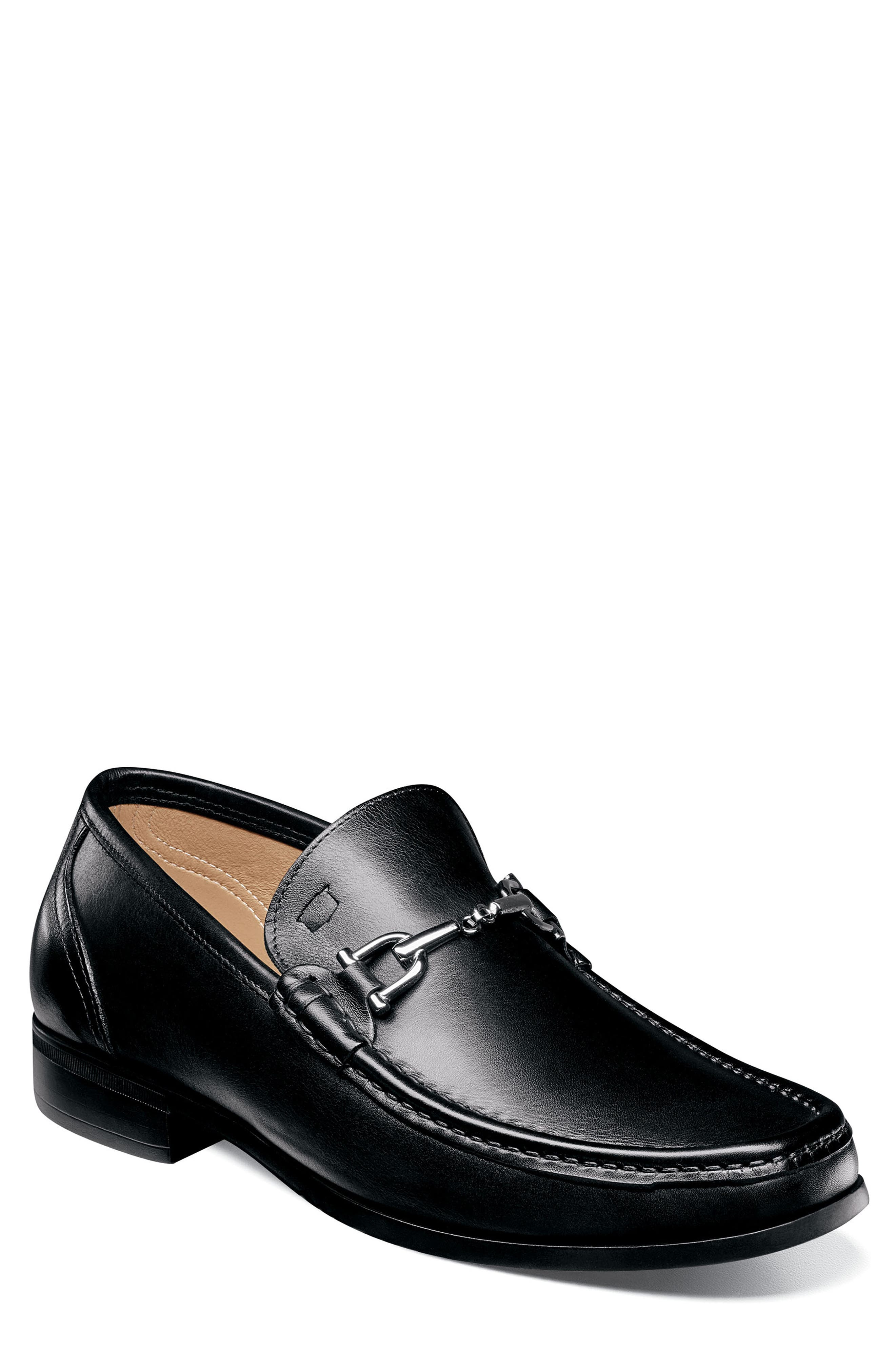 Imperial Puente Bit Loafer,                             Main thumbnail 1, color,                             BLACK LEATHER