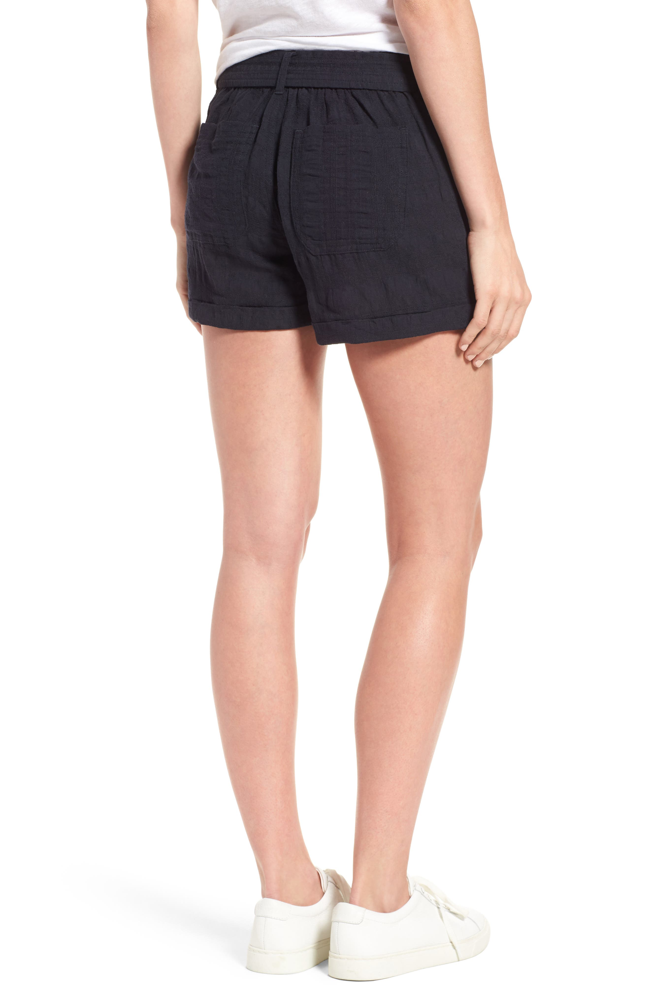 D-Ring Belted Shorts,                             Alternate thumbnail 2, color,                             490