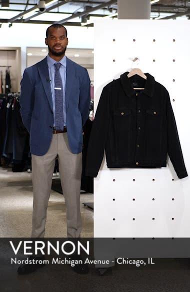 Lined Denim Jacket, sales video thumbnail
