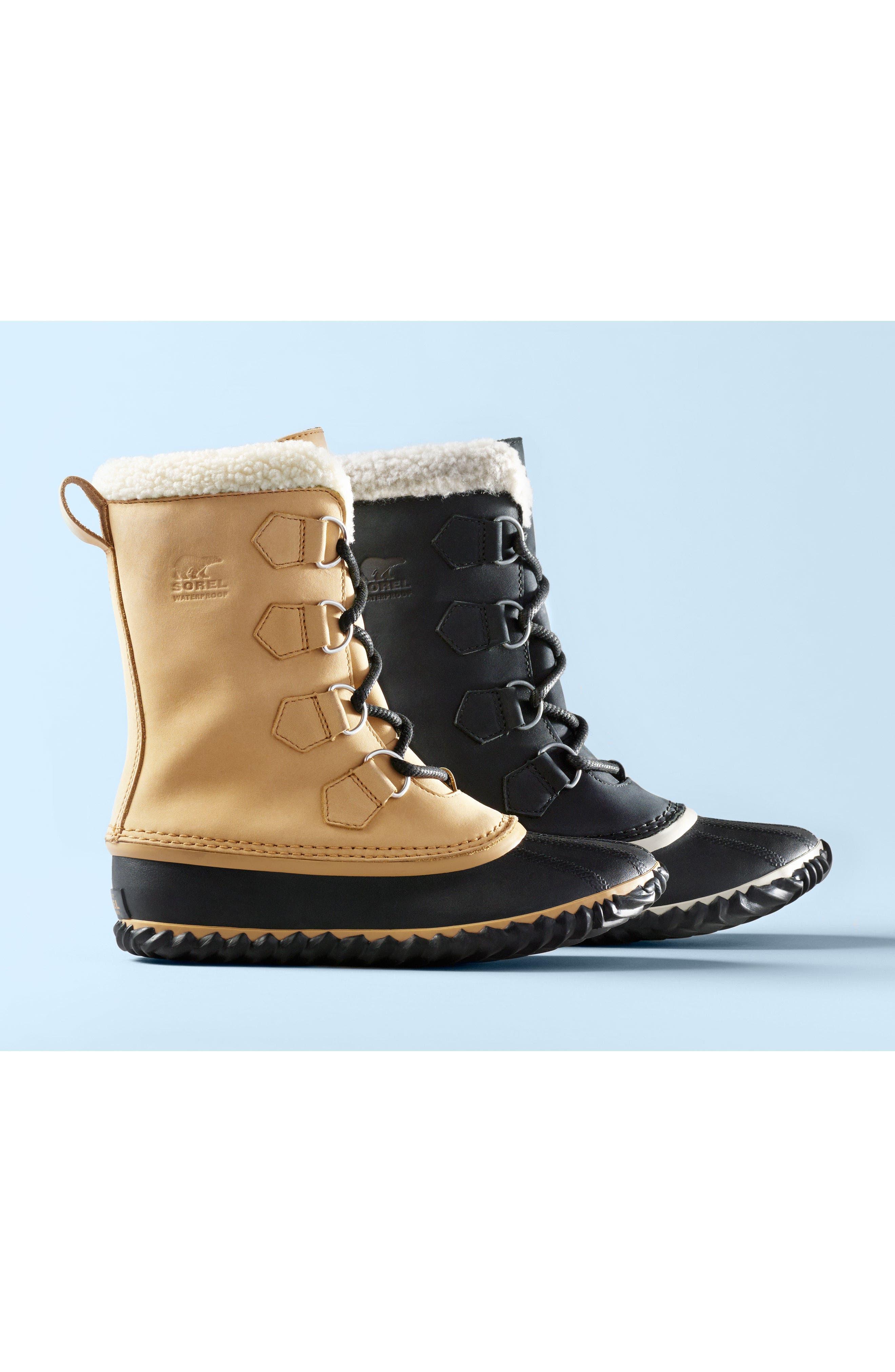 Caribou Slim Waterproof Boot,                             Alternate thumbnail 7, color,                             010