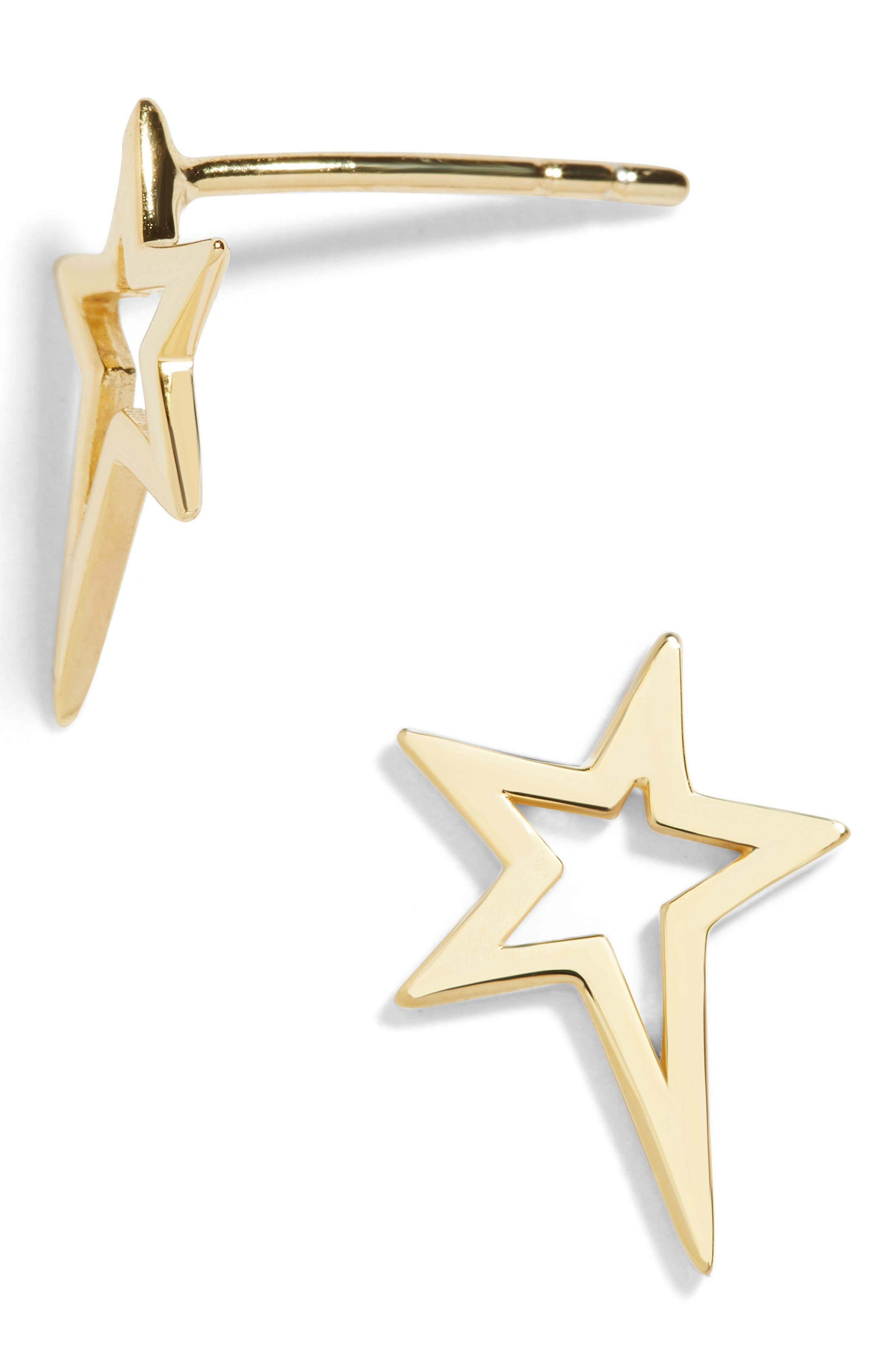 Star Stud Earrings,                         Main,                         color, 710