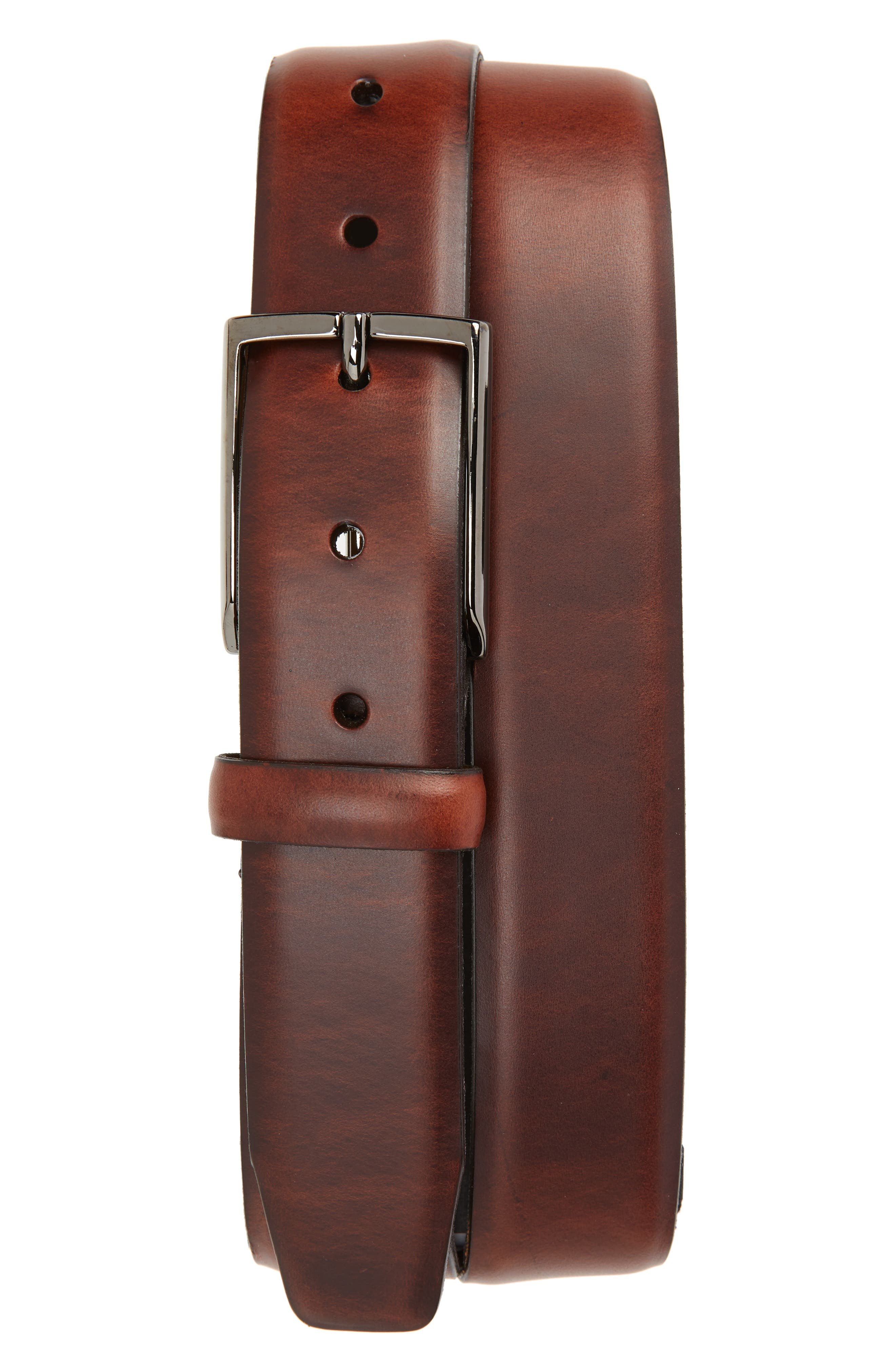 Francis Pull-Up Leather Belt,                             Main thumbnail 2, color,