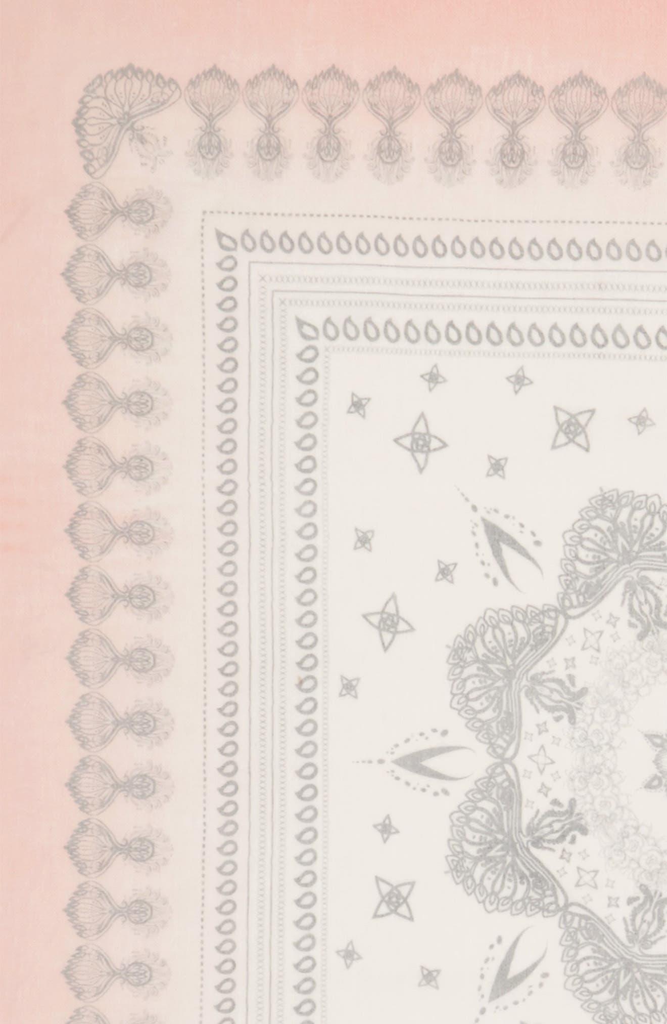 Paisley Print Scarf,                             Alternate thumbnail 6, color,