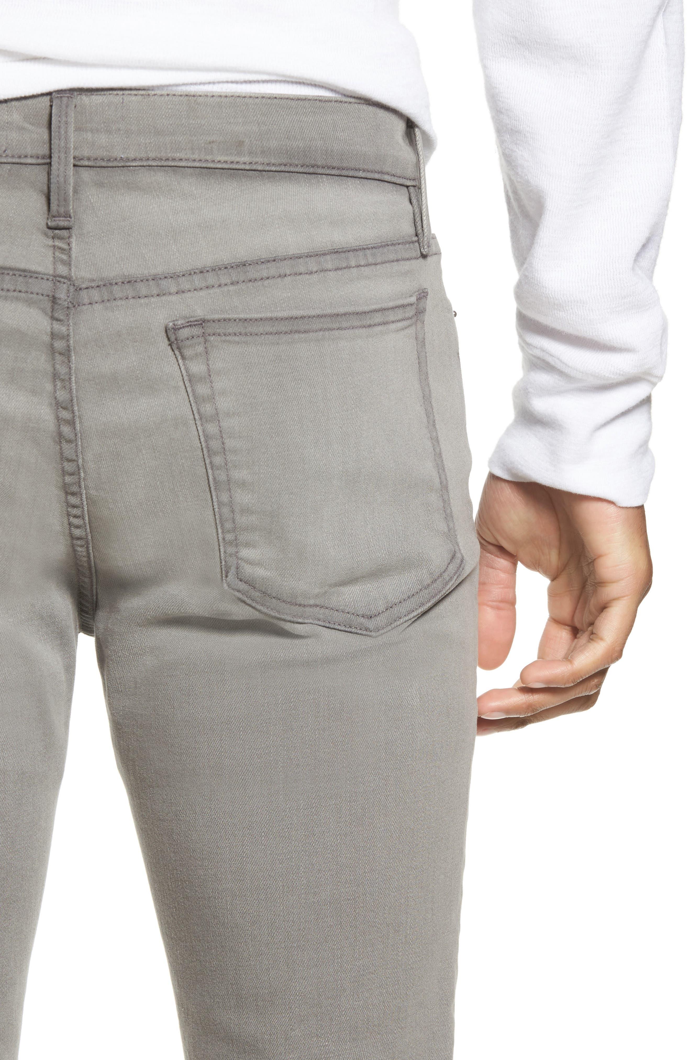 L'Homme Slim Fit Jeans,                             Alternate thumbnail 4, color,                             030