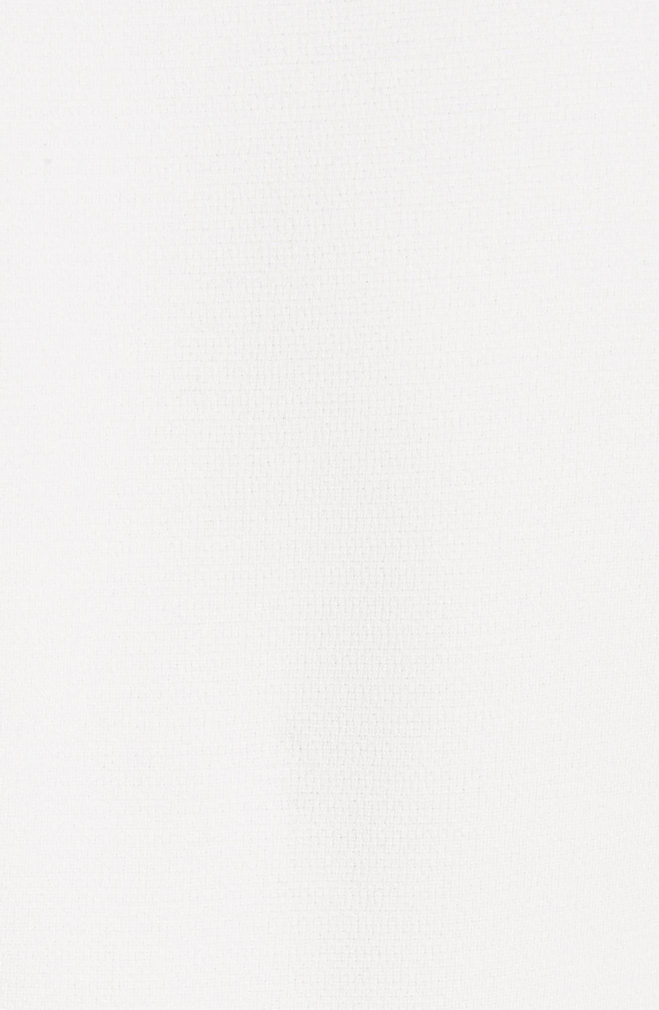 Wide Cuff Crepe Blouse,                             Alternate thumbnail 5, color,                             900