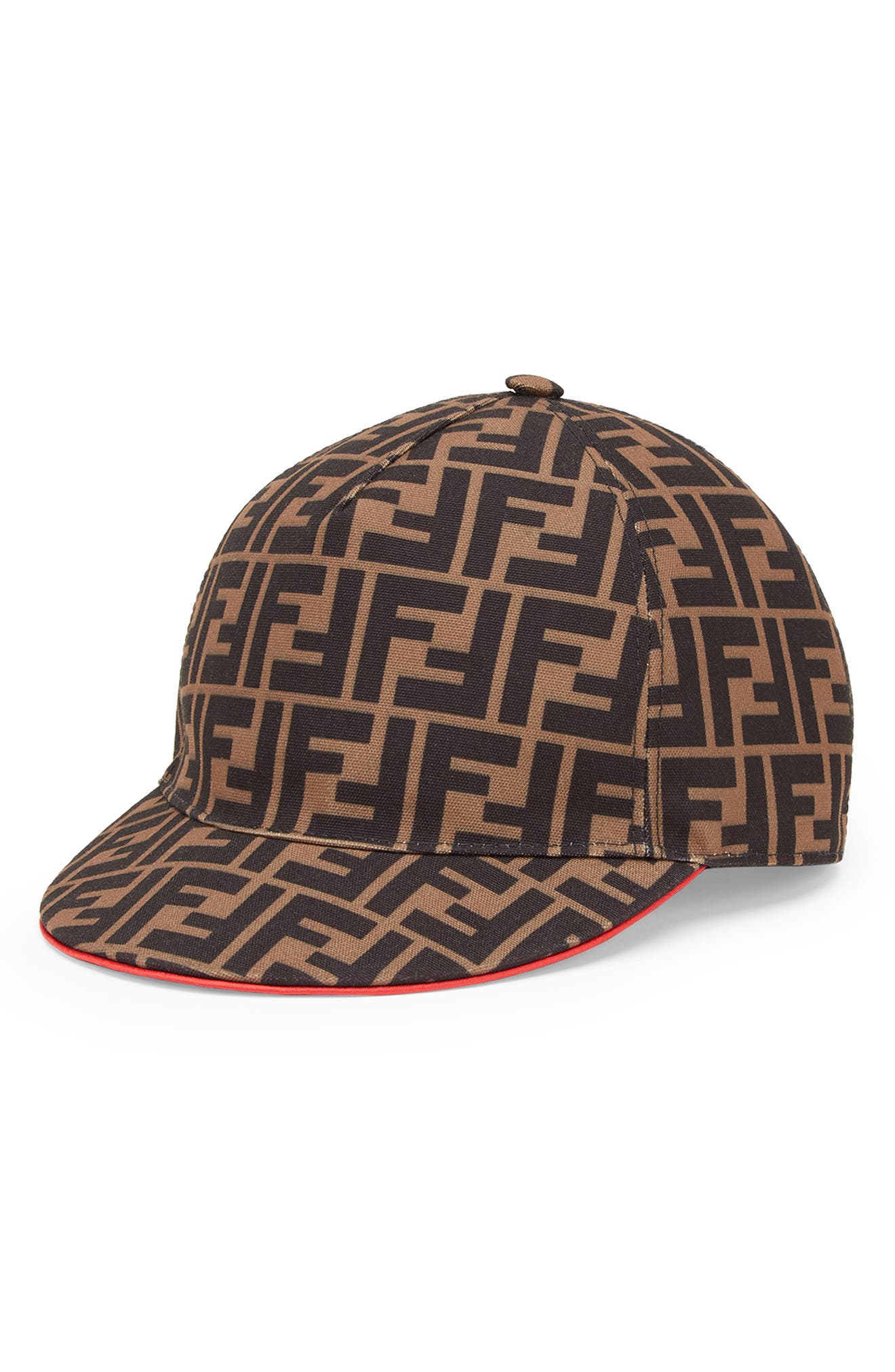 Fendirama Logo Baseball Cap,                             Main thumbnail 1, color,                             200