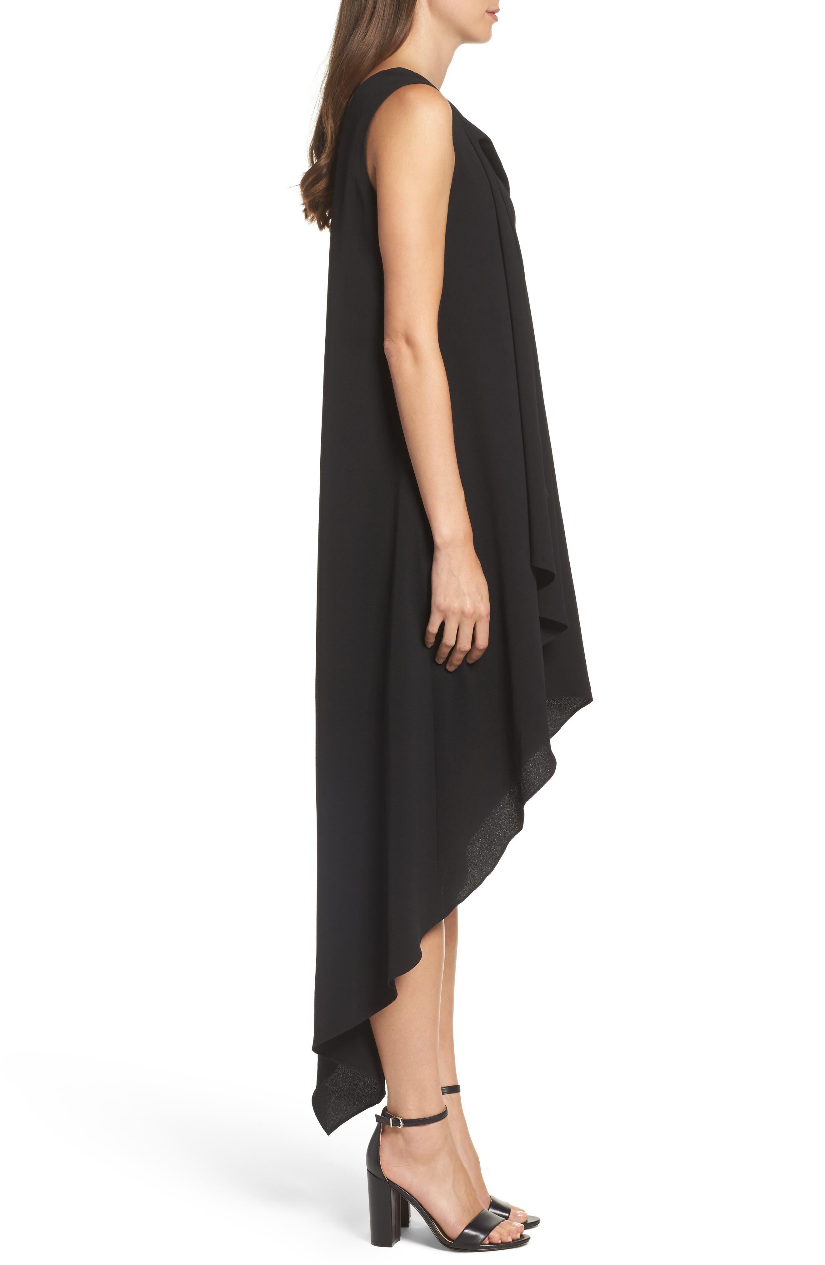 High/Low Dress,                             Alternate thumbnail 3, color,                             001