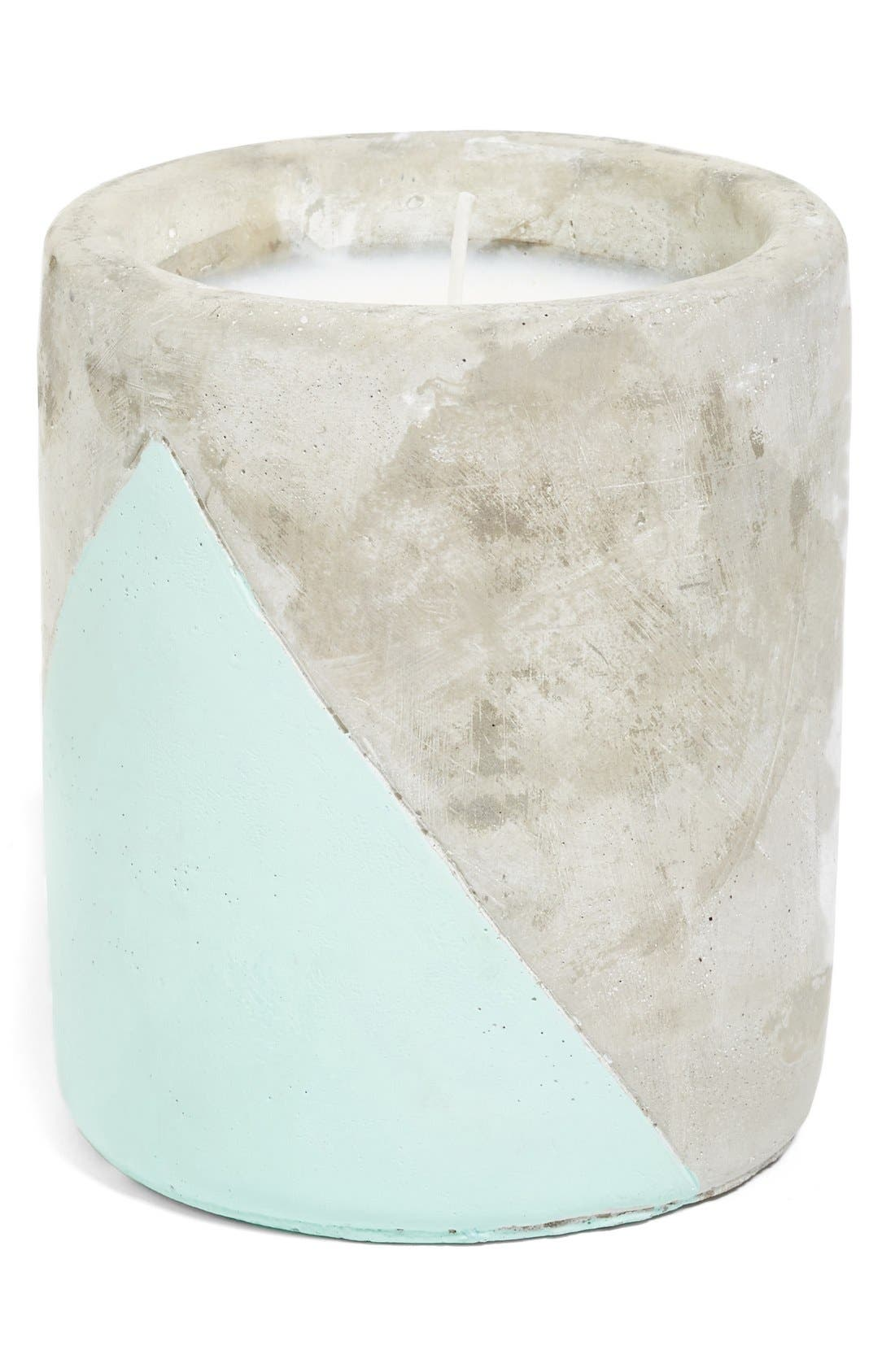 Urban Concrete Soy Wax Candle,                             Main thumbnail 1, color,