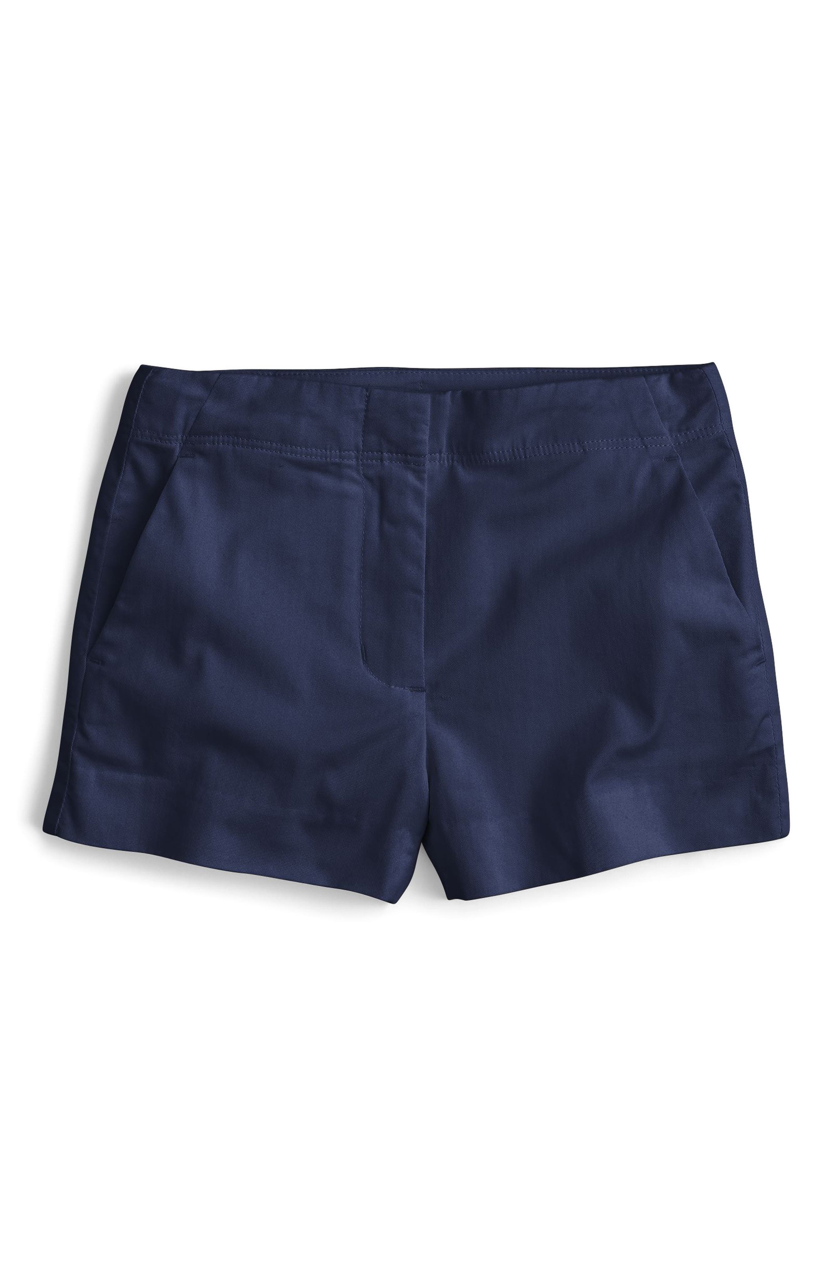 Frankie Stretch Cotton Shorts,                             Main thumbnail 1, color,                             403