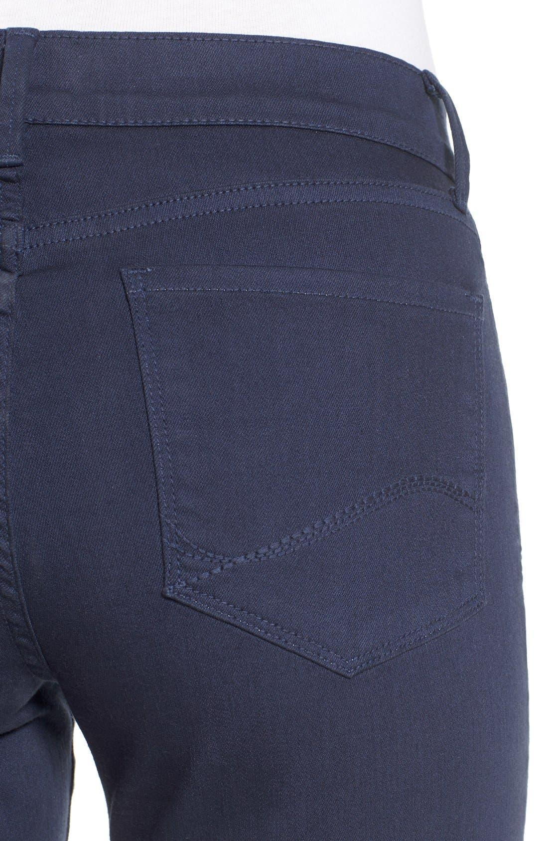 'Dayla' Colored Wide Cuff Capri Jeans,                             Alternate thumbnail 21, color,