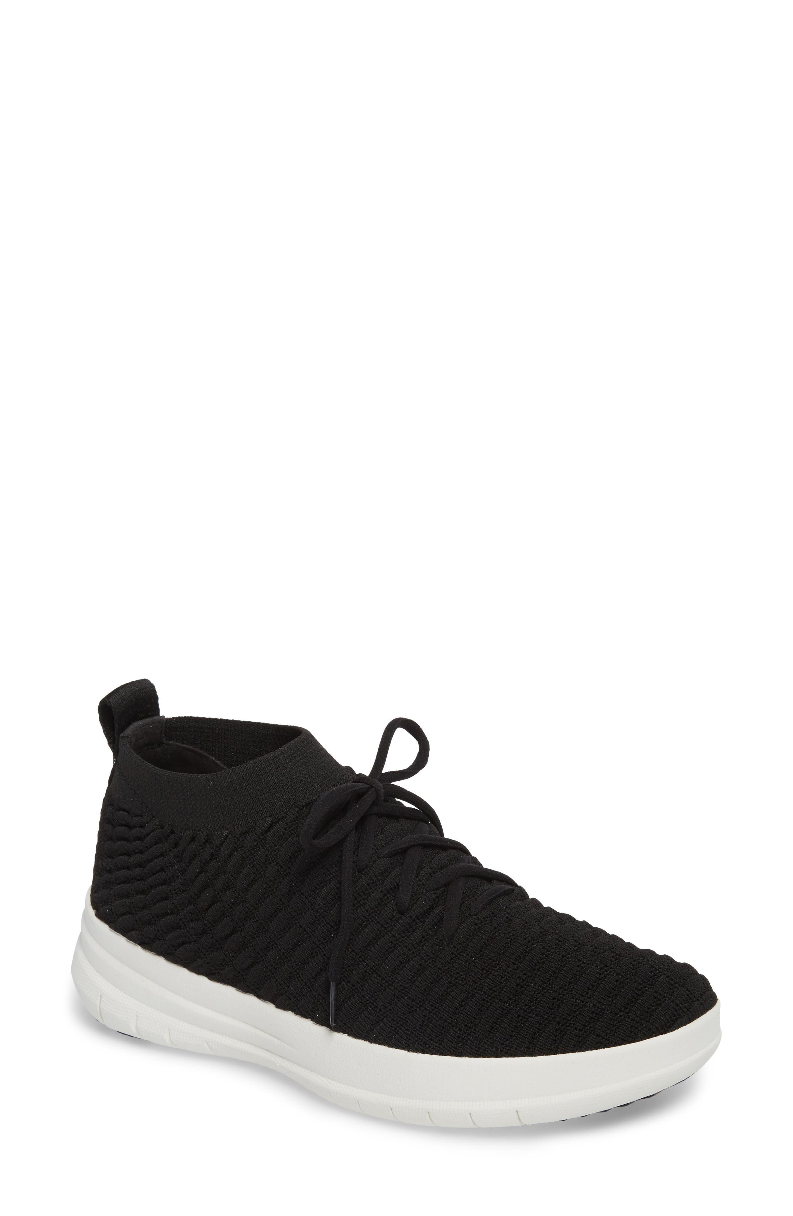 Uberknit<sup>™</sup> Slip-On High Top Sneaker,                             Main thumbnail 1, color,                             001