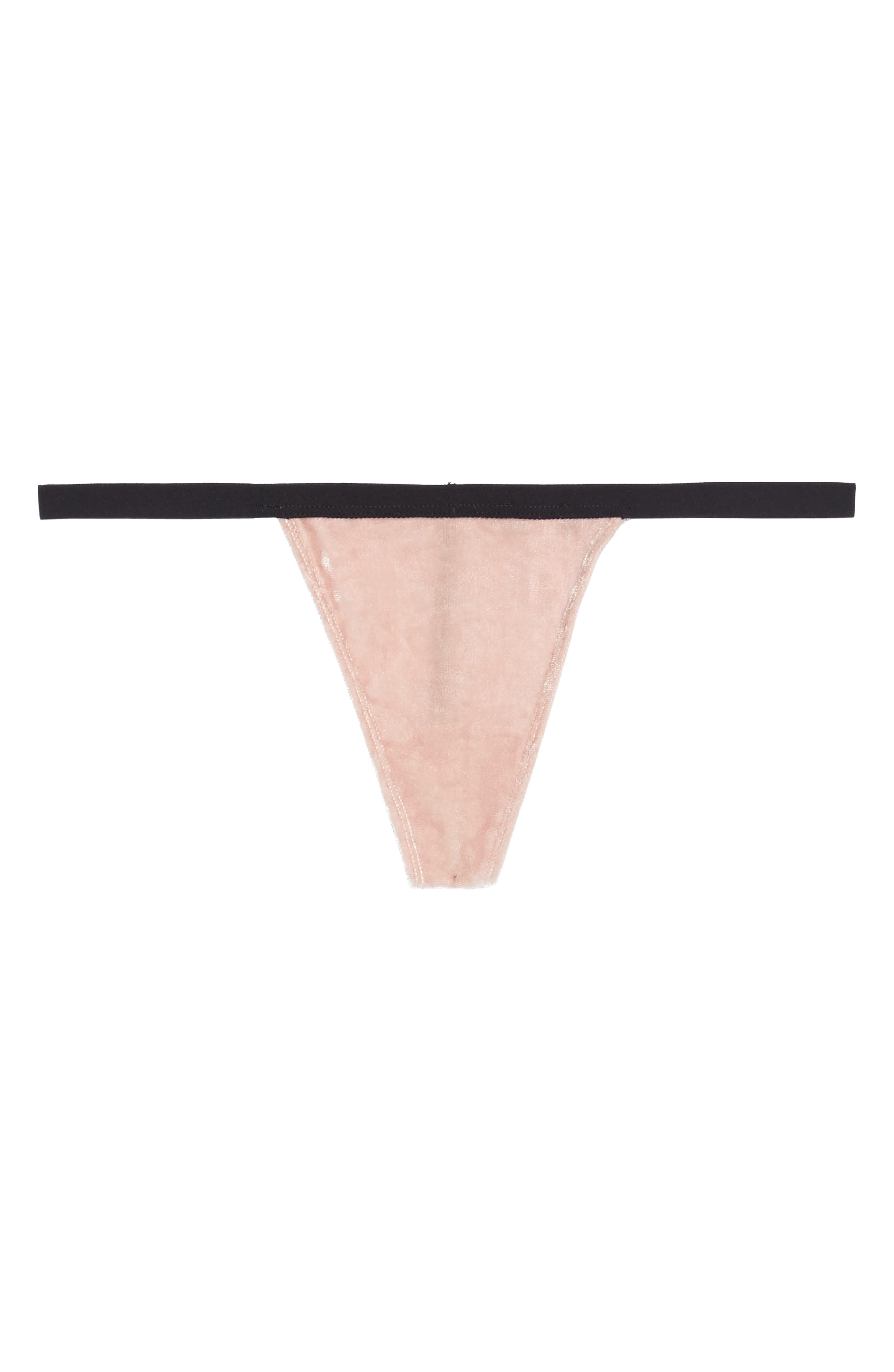 Bisou Tex G-String Thong,                             Alternate thumbnail 5, color,                             650
