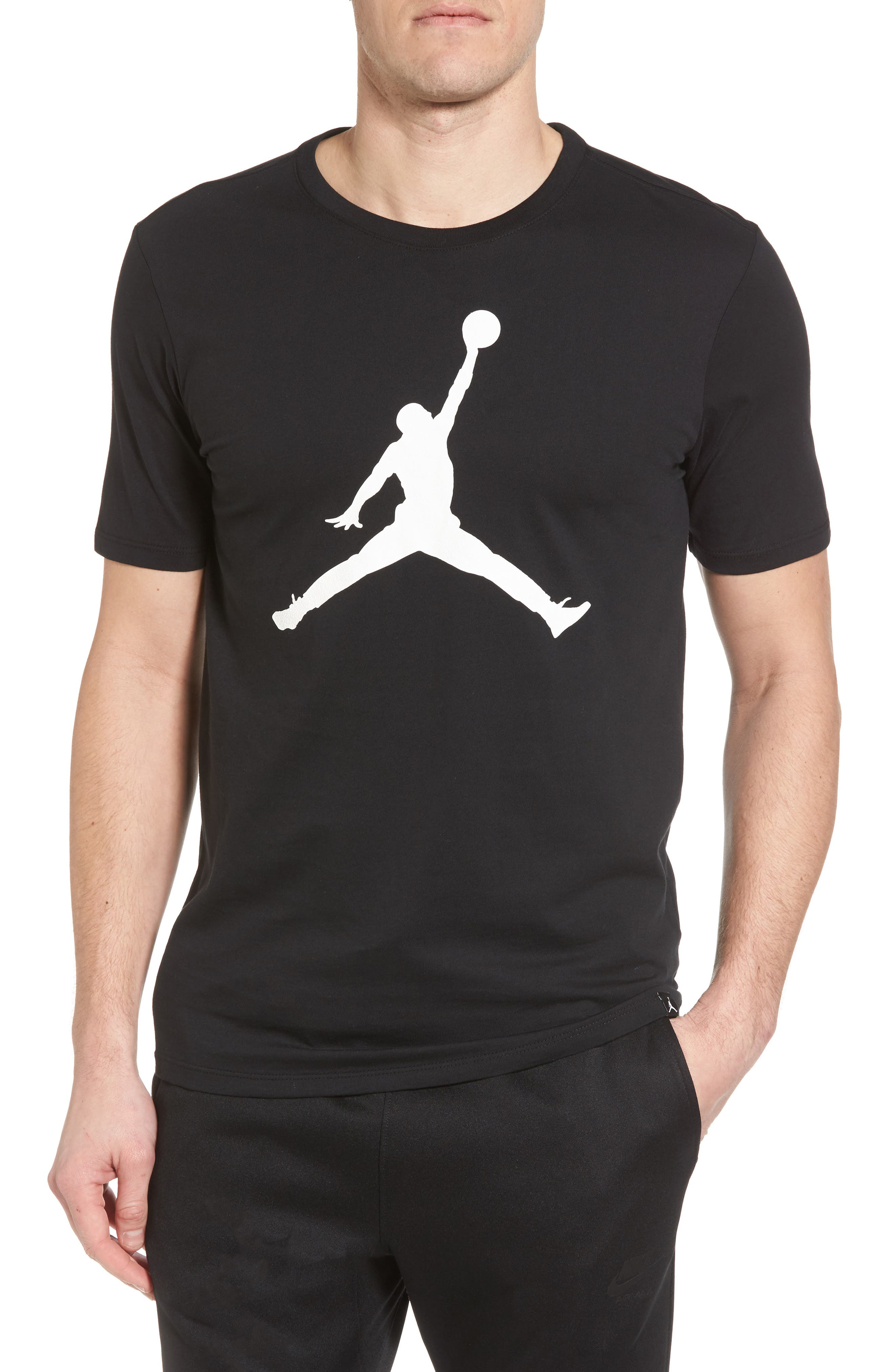 Sportswear Iconic Jumpman T-Shirt,                         Main,                         color, 010