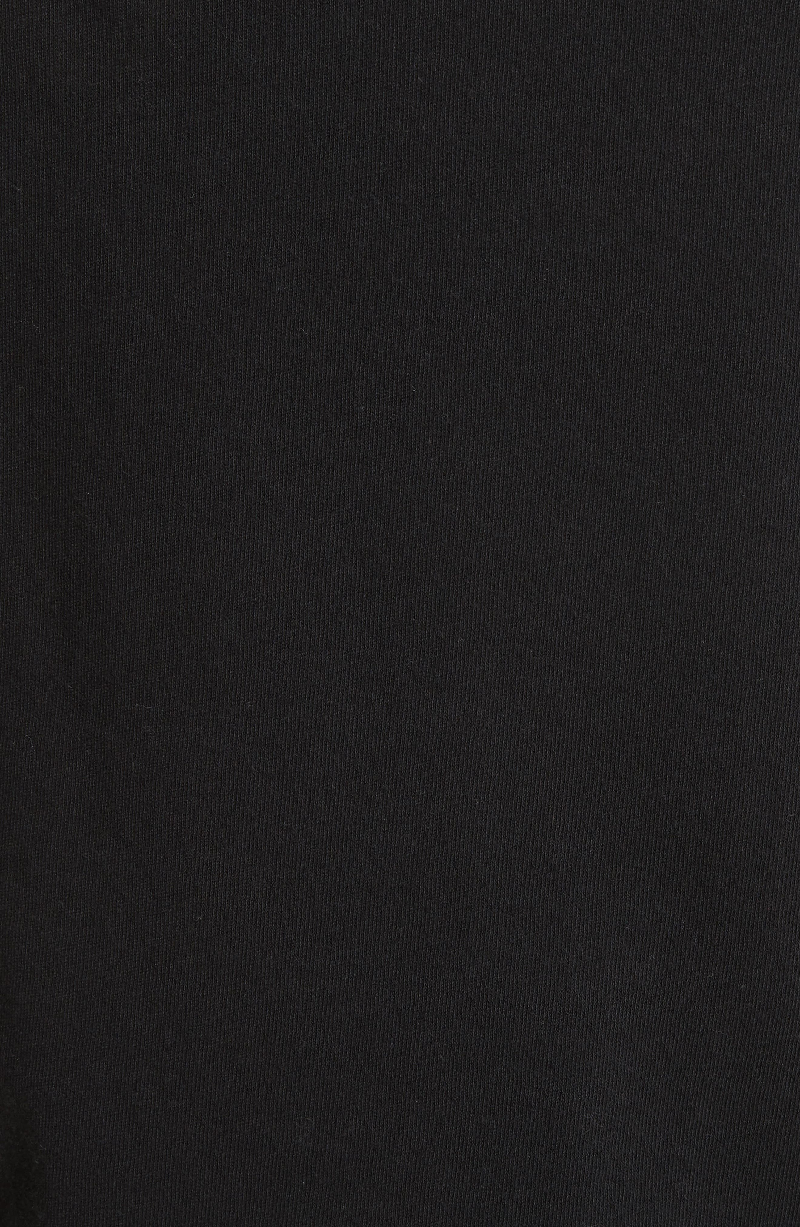 Ember Ruched Sleeve Sweatshirt,                             Alternate thumbnail 9, color,