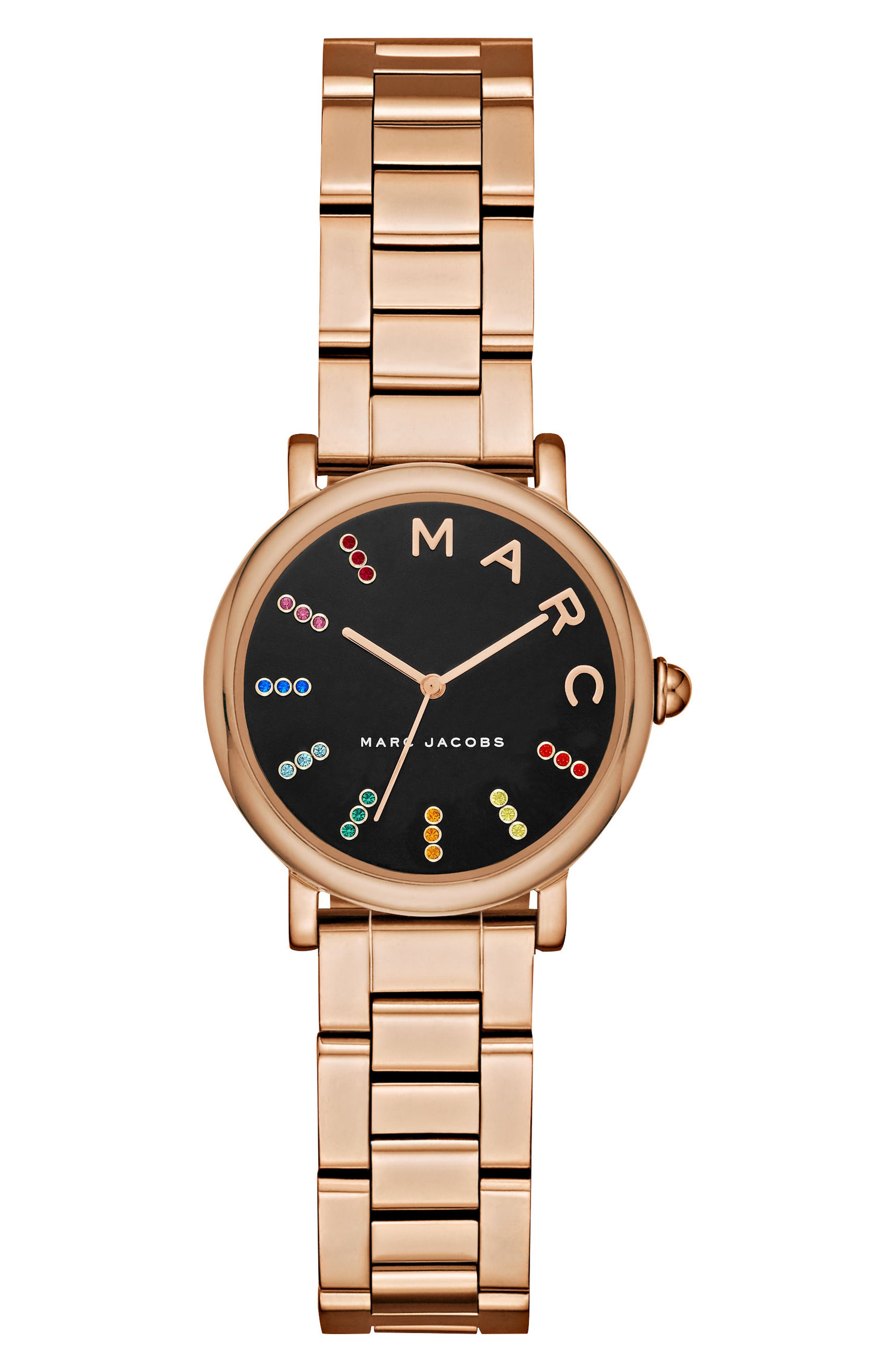 Roxy Crystal Bracelet Watch, 28mm,                             Main thumbnail 2, color,