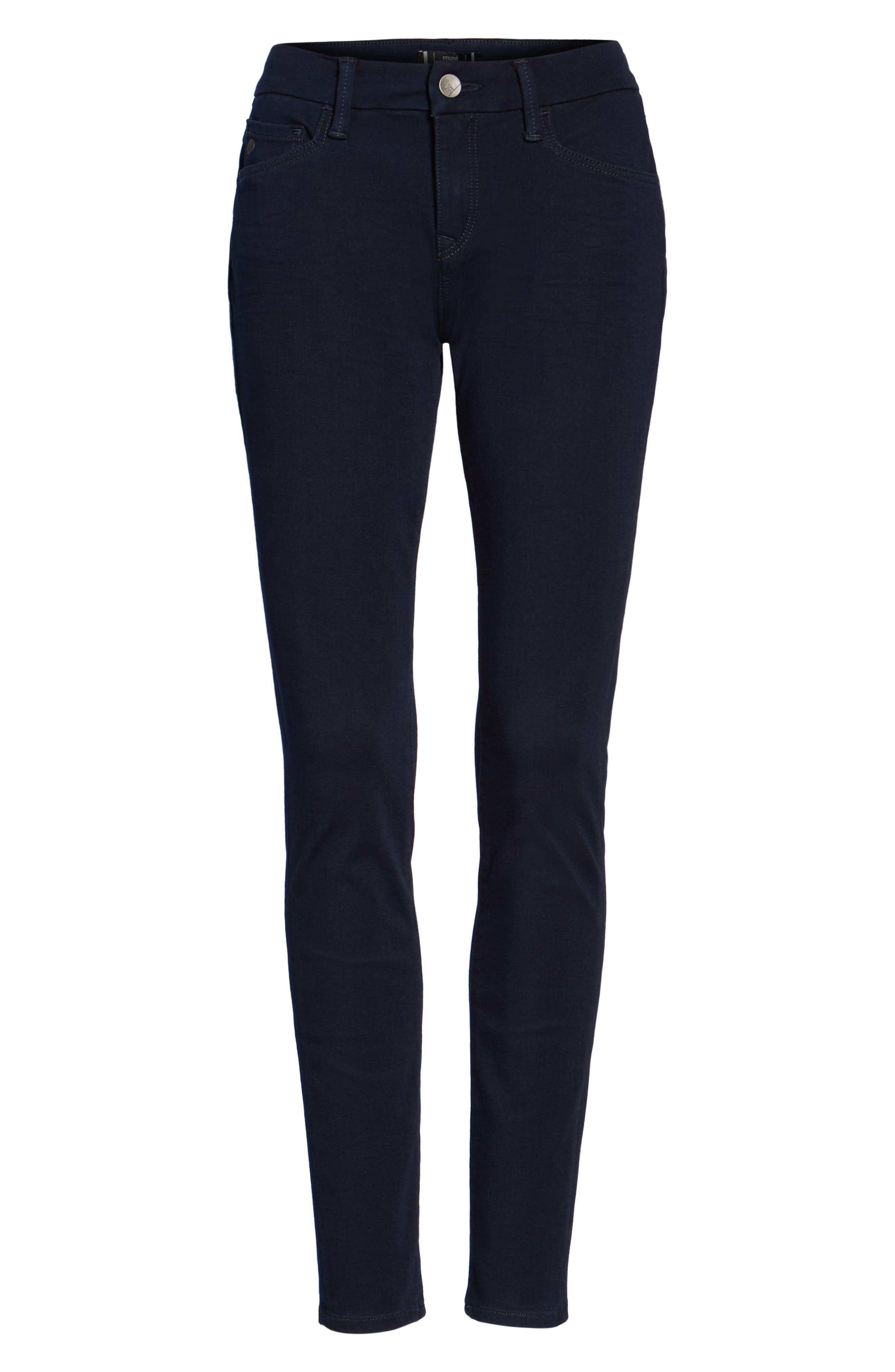 Alexa Stretch Skinny Jeans,                             Alternate thumbnail 6, color,                             401