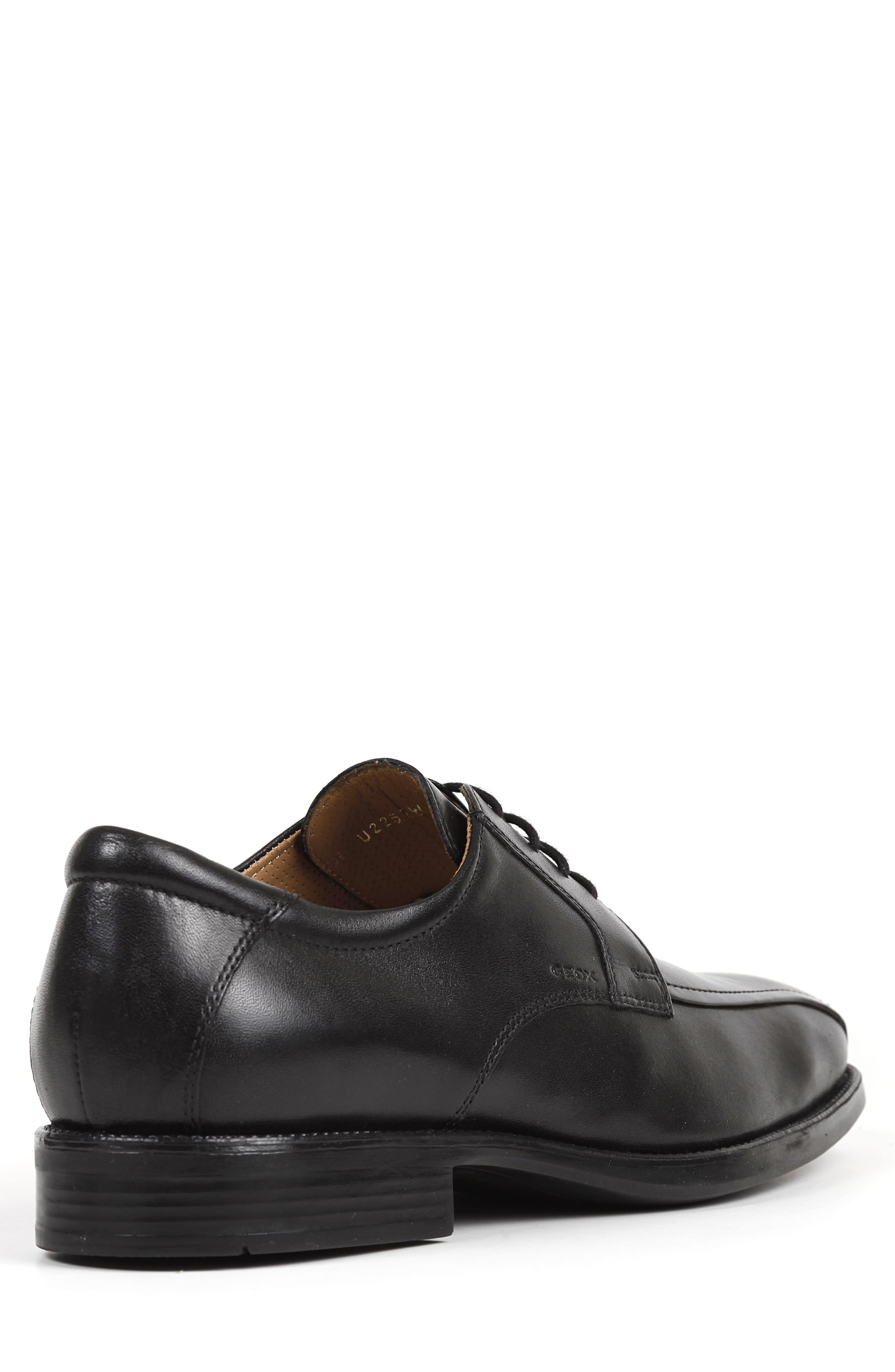 Federico 10 Lace-Up Derby,                             Alternate thumbnail 2, color,                             BLACK LEATHER