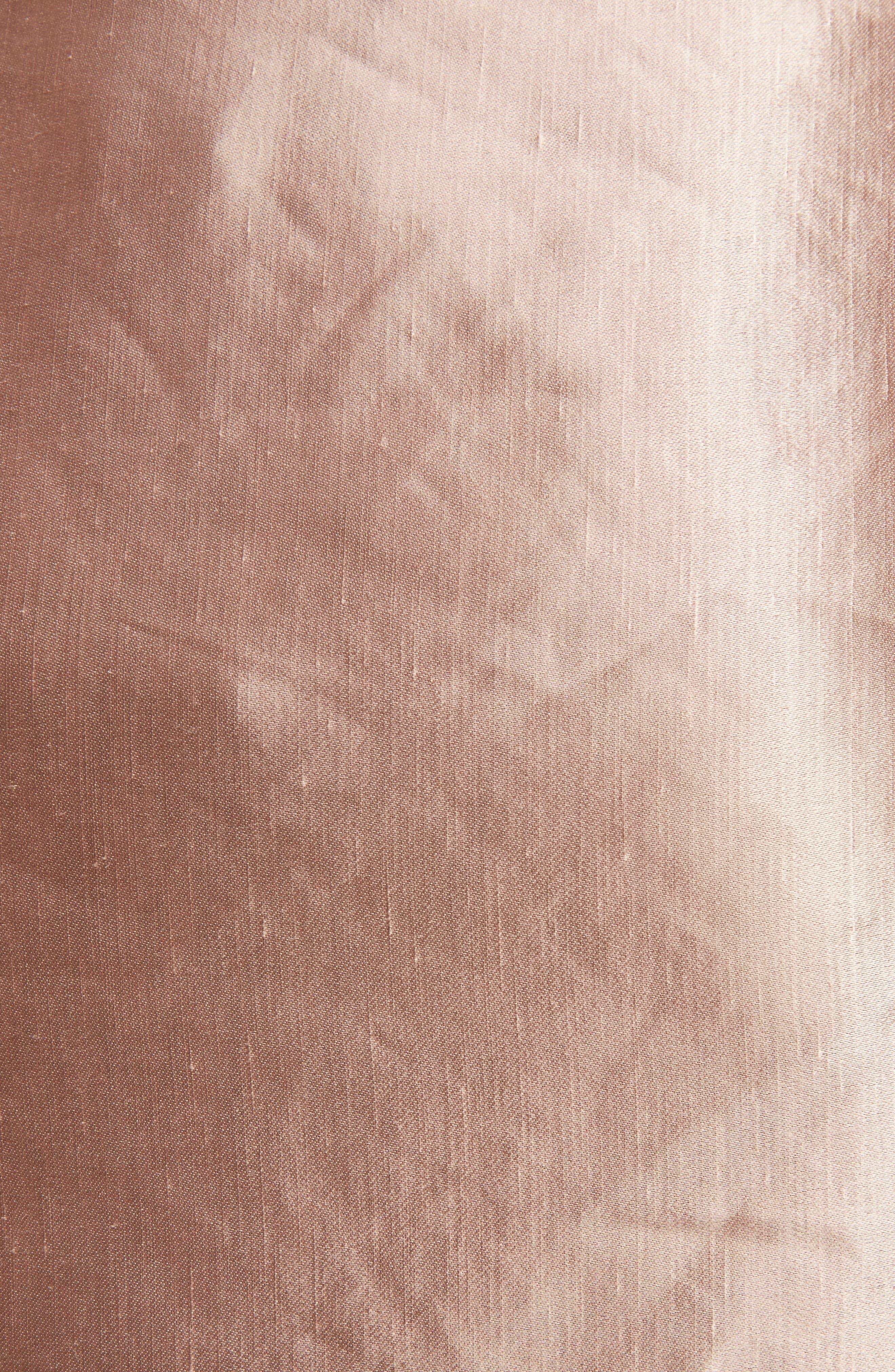 Scarf Satin Skirt,                             Alternate thumbnail 5, color,                             220