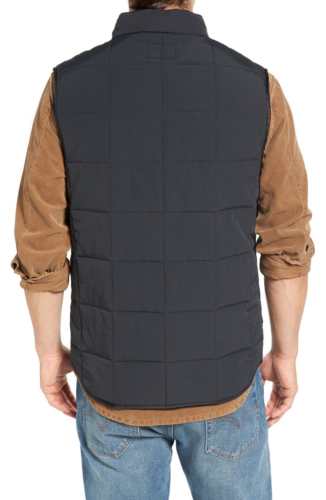 Quilted Vest,                             Alternate thumbnail 2, color,                             001