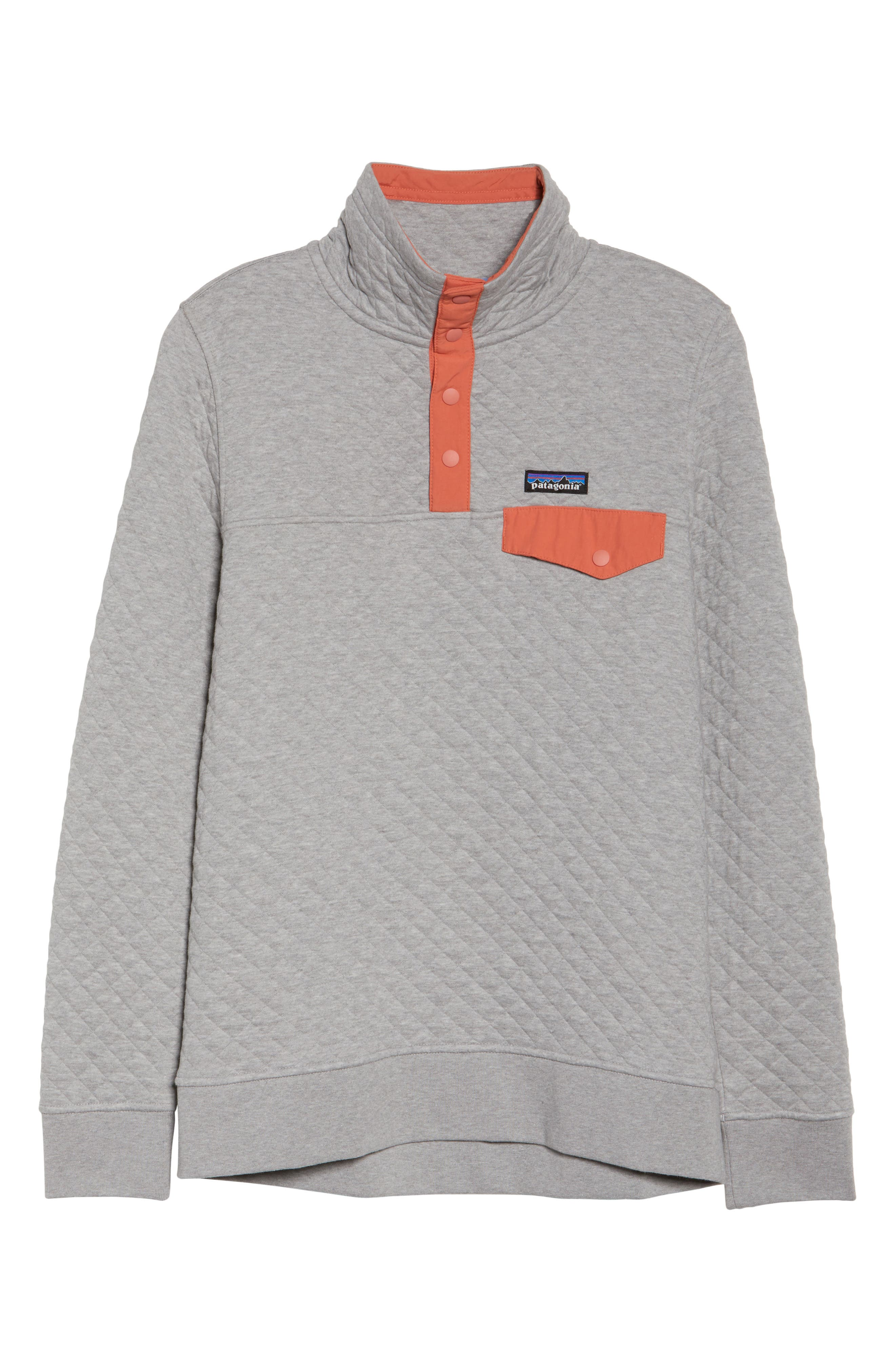 PATAGONIA,                             Snap-T<sup>®</sup> Quilted Pullover,                             Alternate thumbnail 7, color,                             023
