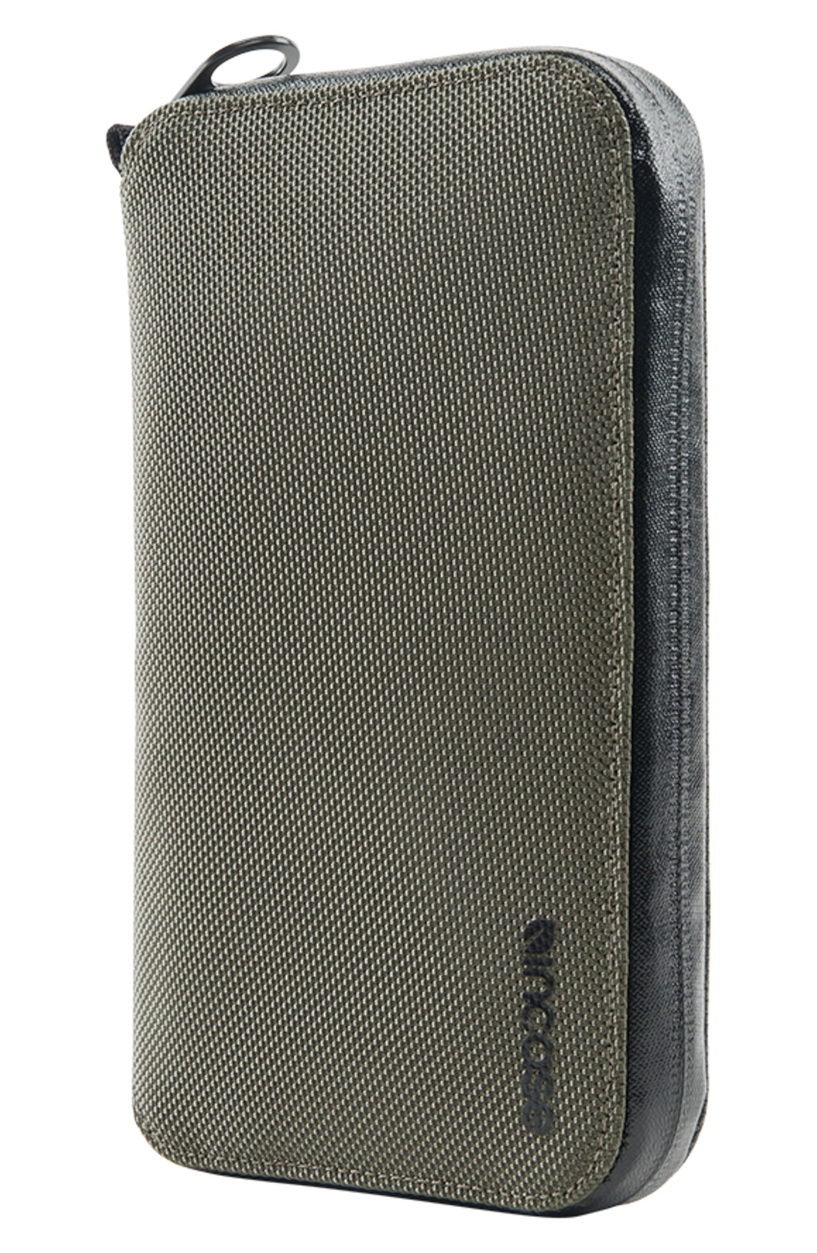 Zip Passport Wallet,                             Alternate thumbnail 7, color,                             ANTHRACITE