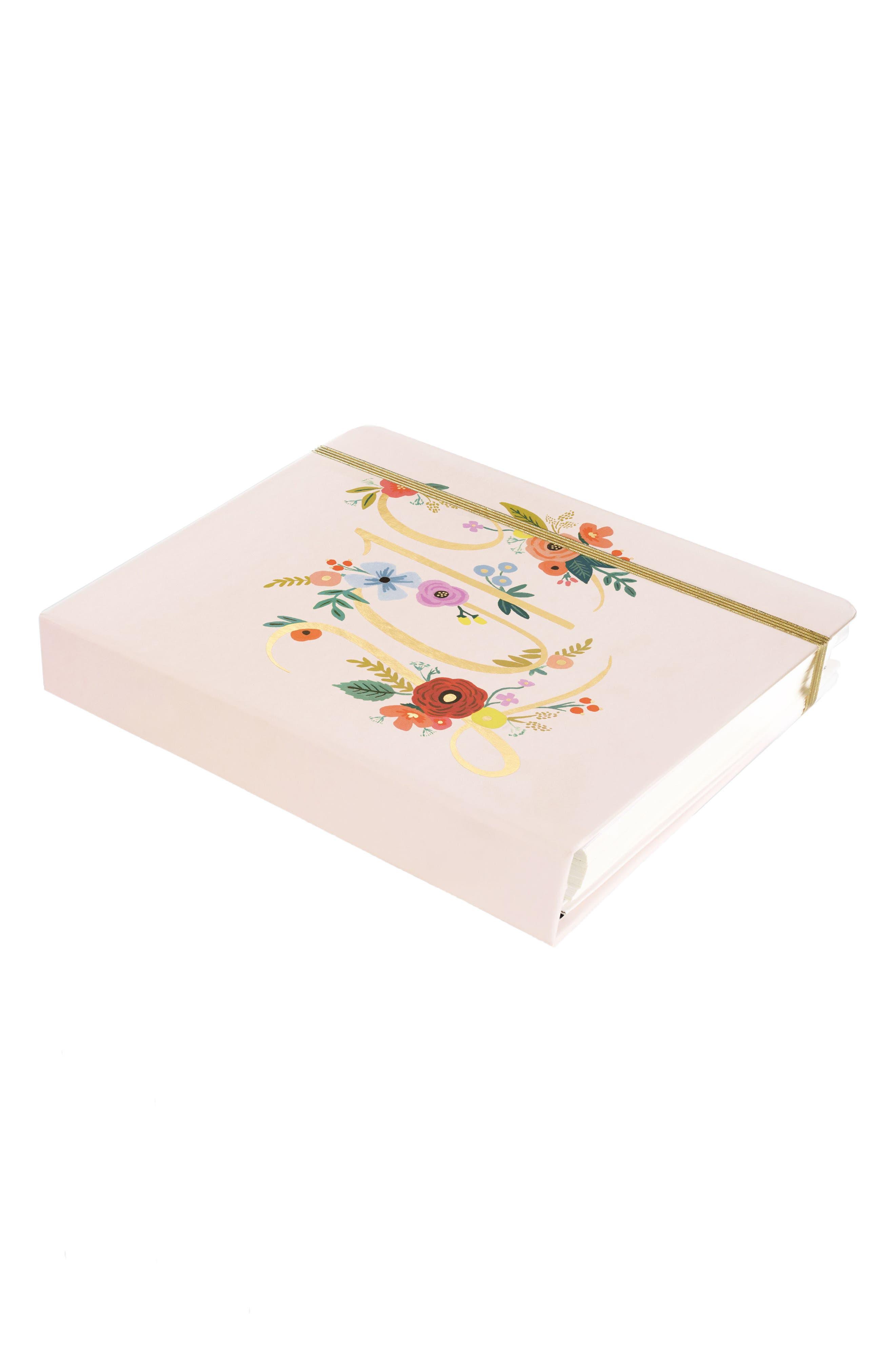 2019 Bouquet 17-Month Planner,                             Alternate thumbnail 4, color,                             PINK