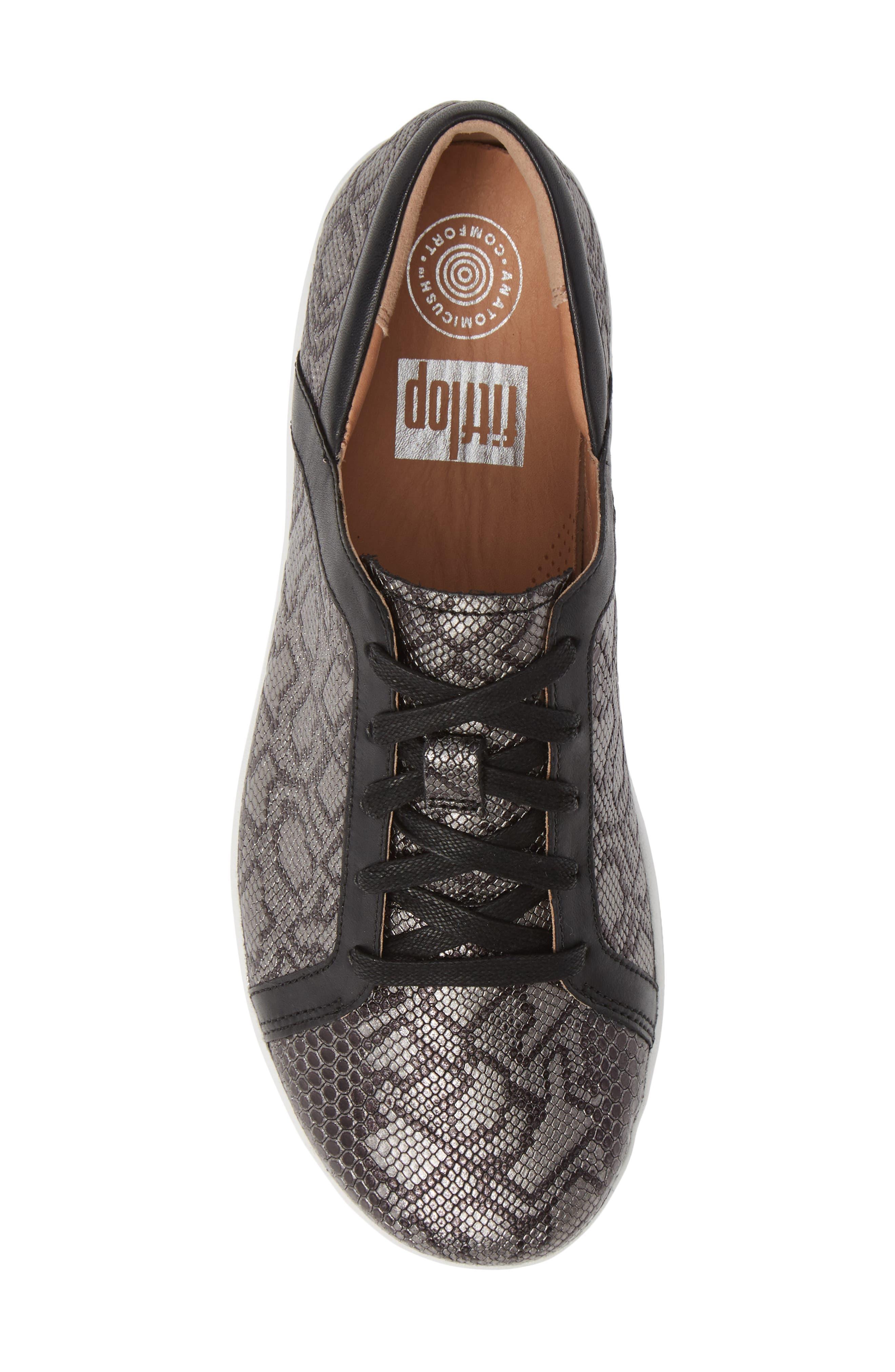 FITFLOP,                             F-Sporty II Sneaker,                             Alternate thumbnail 5, color,                             001