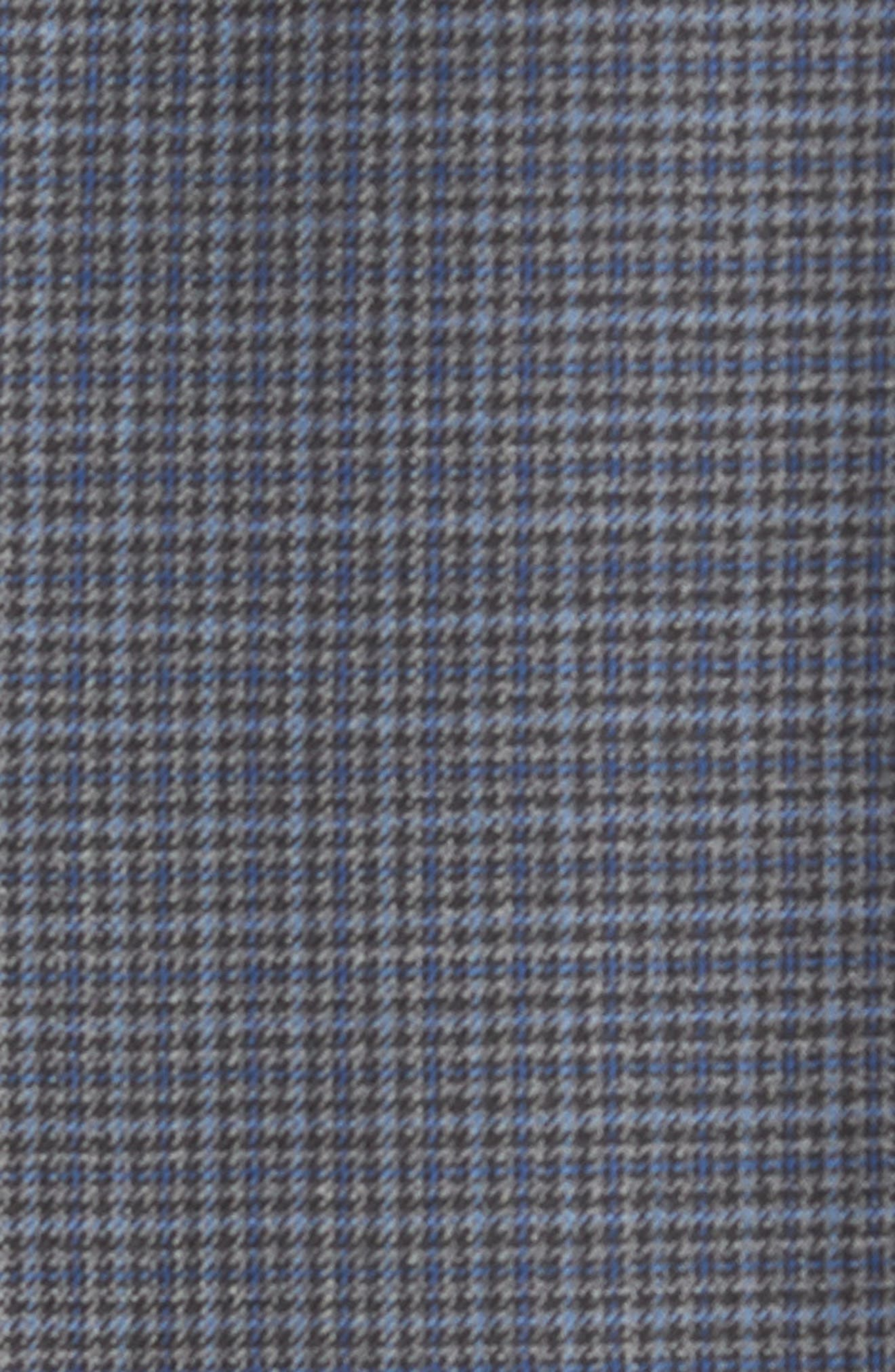 Jed Trim Fit Microcheck Wool Sport Coat,                             Alternate thumbnail 6, color,                             020