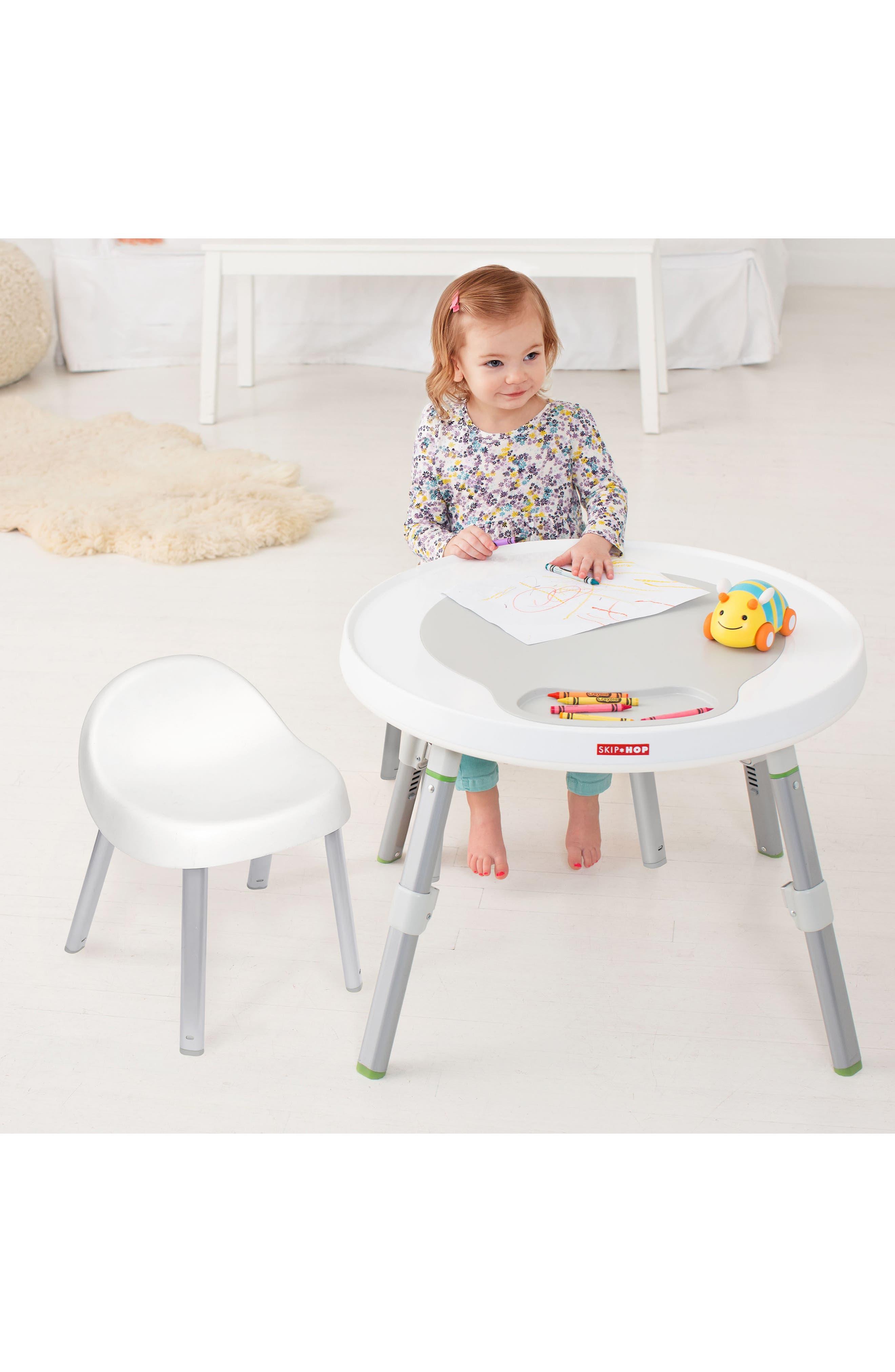 Explore & More Kids' Chairs,                             Alternate thumbnail 3, color,                             WHITE