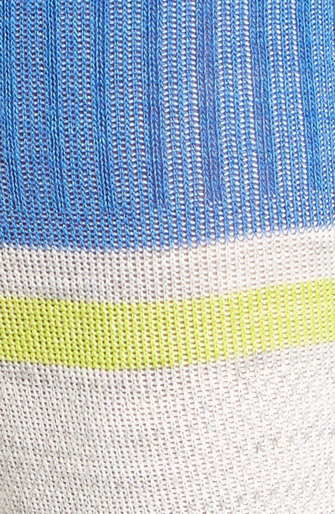 'Sport Flirt' Compression Knee Socks,                             Alternate thumbnail 7, color,