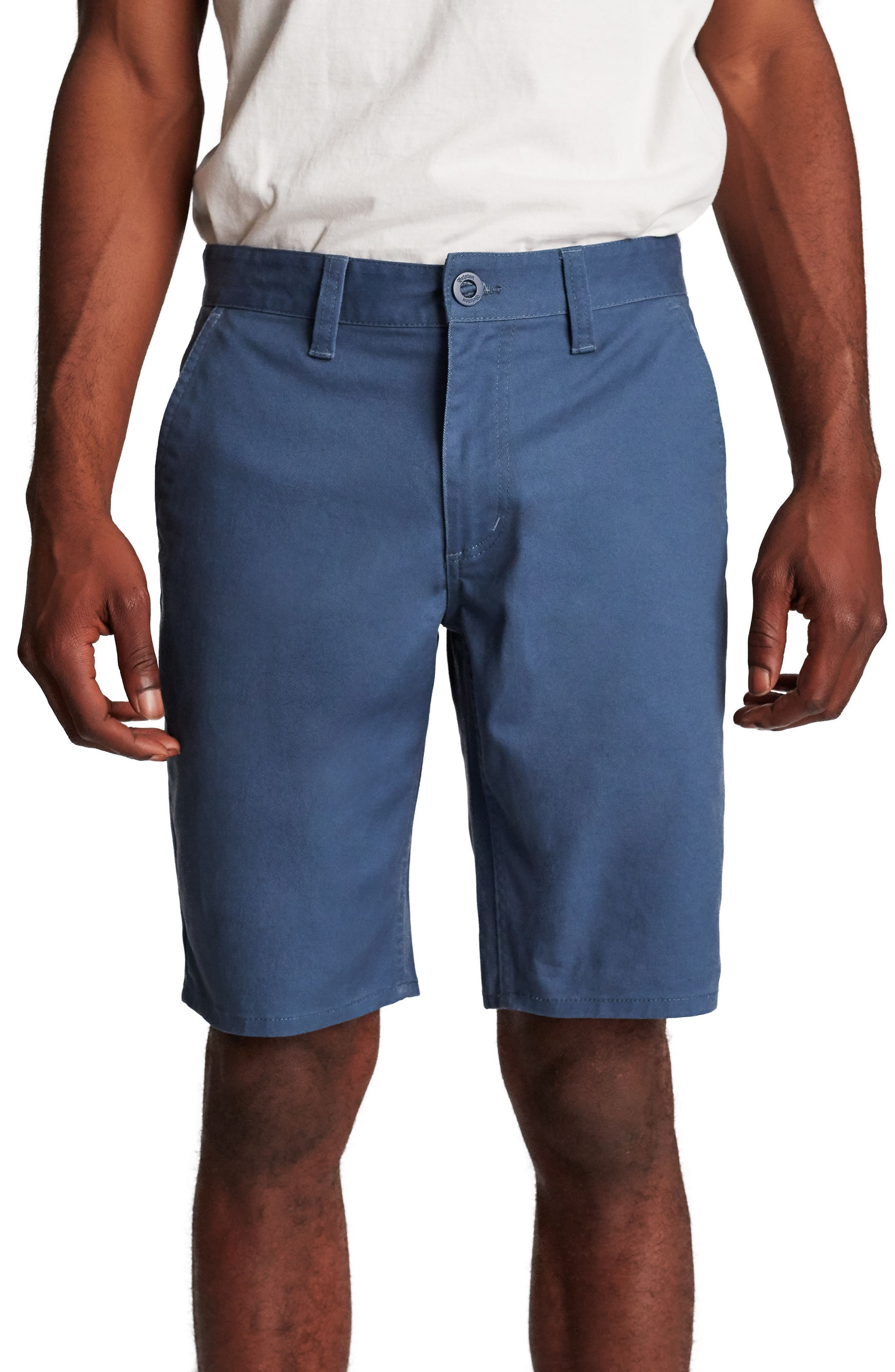 Toil II Hemmed Chino Shorts,                         Main,                         color, 414