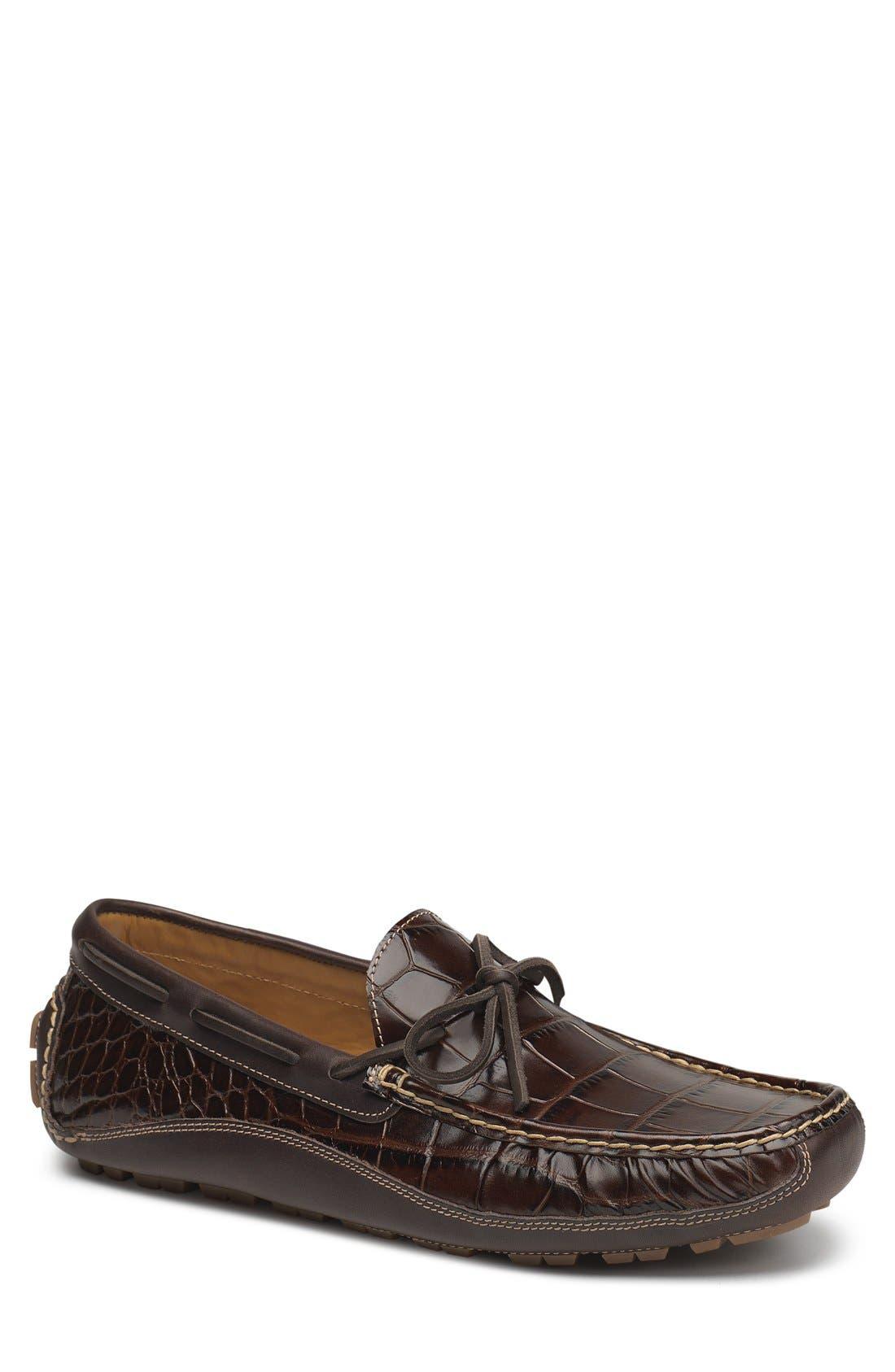 'Drake' Leather Driving Shoe,                             Main thumbnail 3, color,