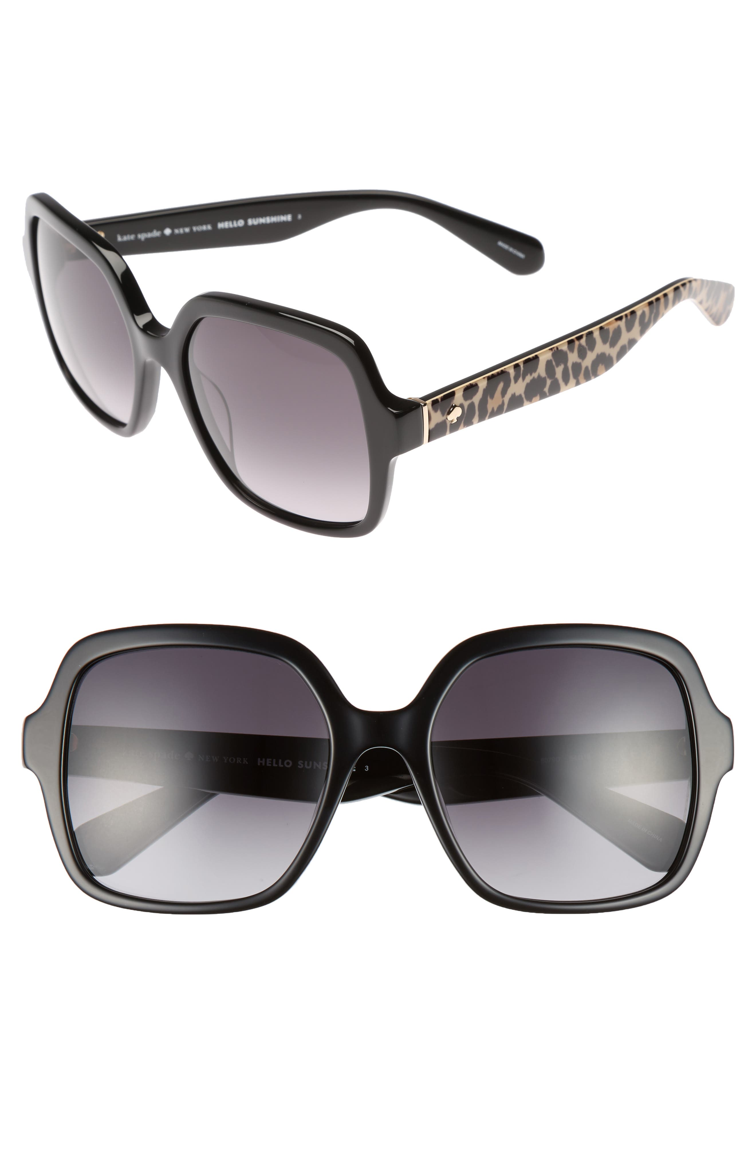 katelee 54mm sunglasses,                             Main thumbnail 1, color,                             002