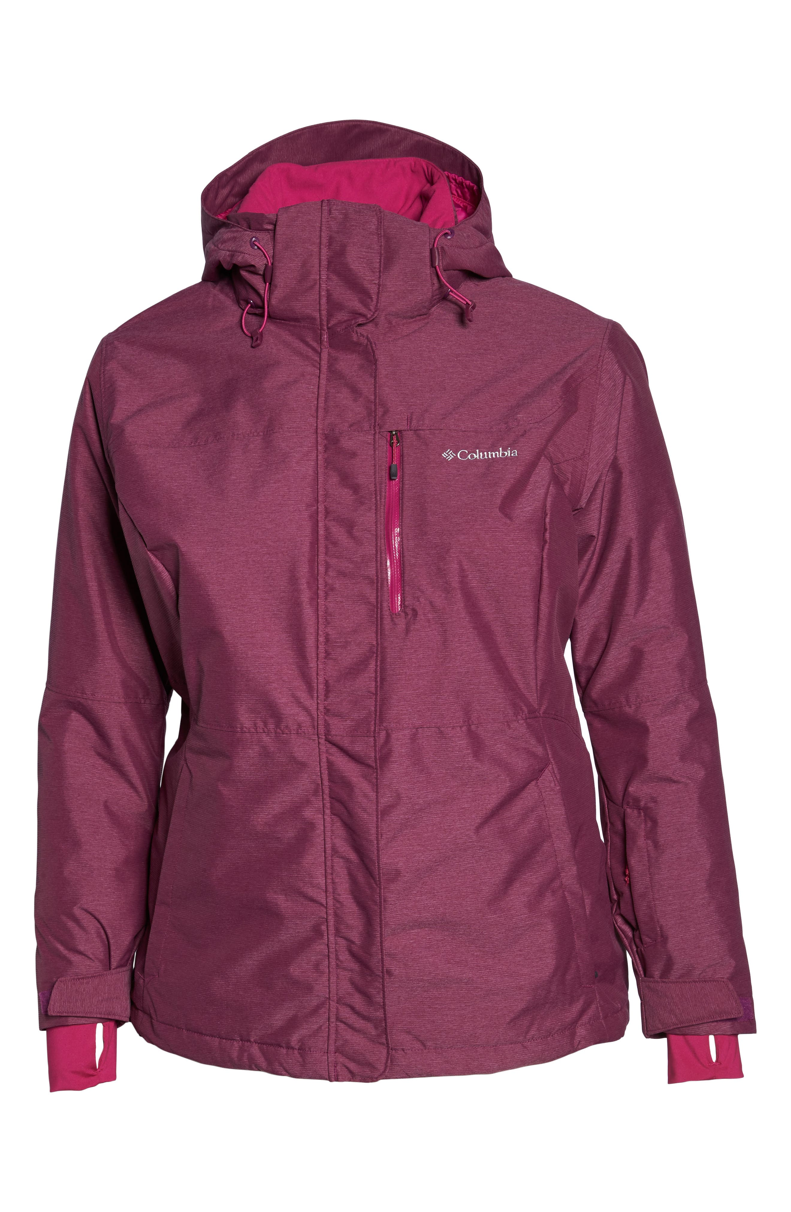 Alpine Action Waterproof Omni-Heat<sup>®</sup> Hooded Jacket,                             Alternate thumbnail 13, color,