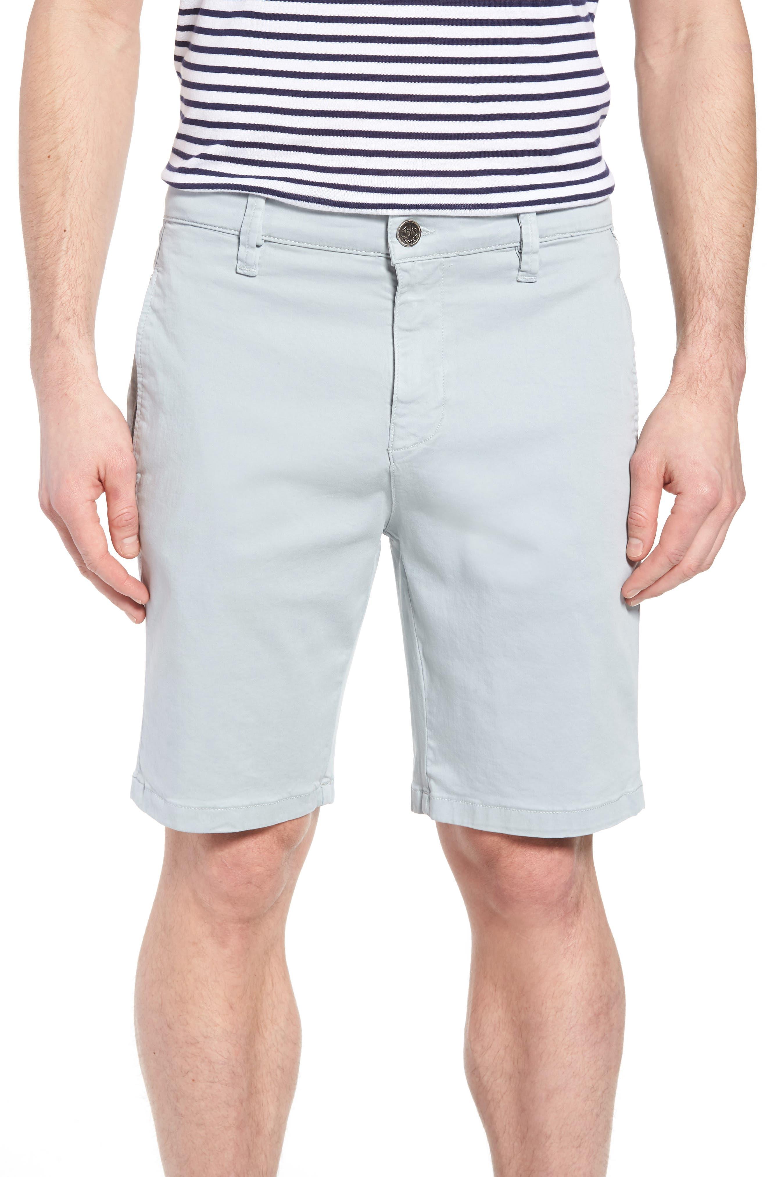 Nevada Twill Shorts,                         Main,                         color, ICE TWILL