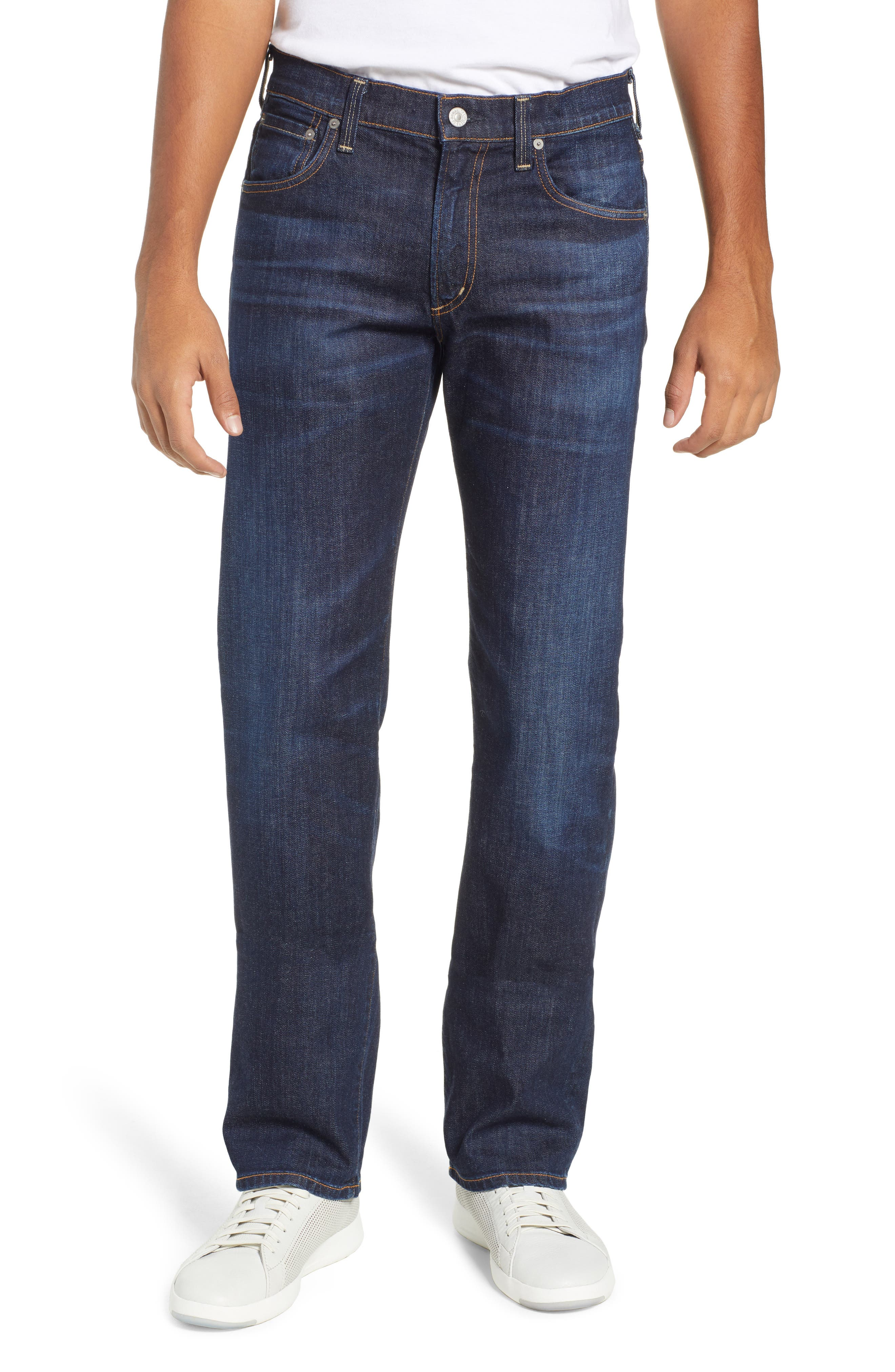 Sid Straight Leg Jeans, Main, color, EMMETT