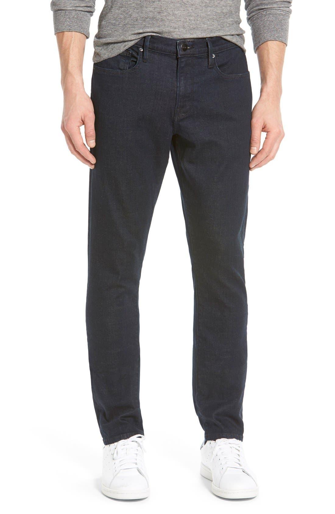 'L'Homme' Slim Fit Jeans,                         Main,                         color,