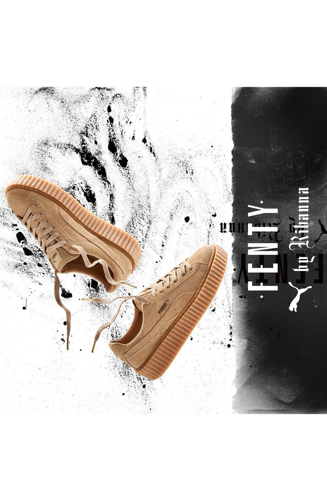 FENTY PUMA by Rihanna Creeper Sneaker,                             Alternate thumbnail 65, color,