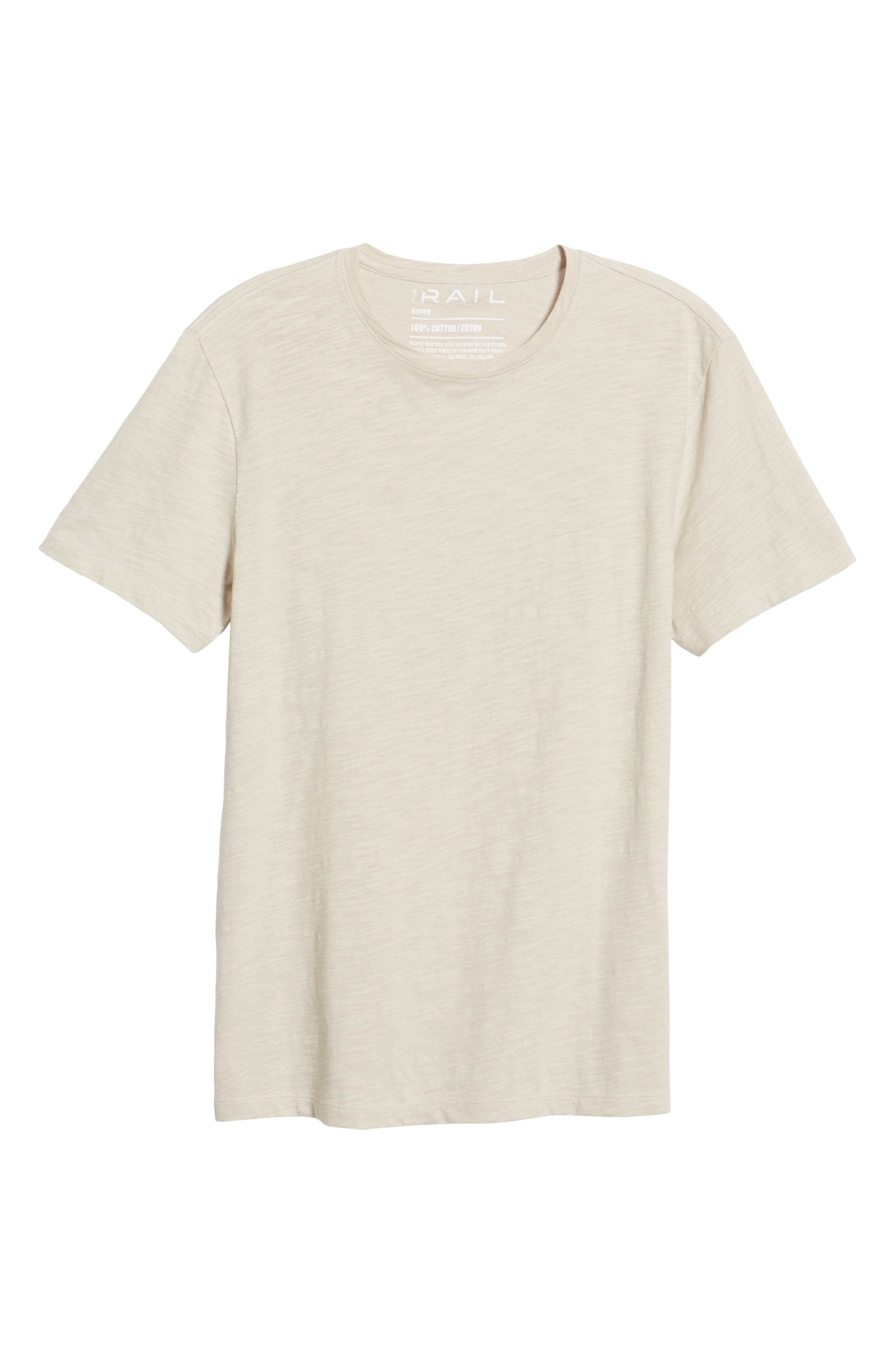 THE RAIL,                             Slub Knit T-Shirt,                             Alternate thumbnail 6, color,                             050