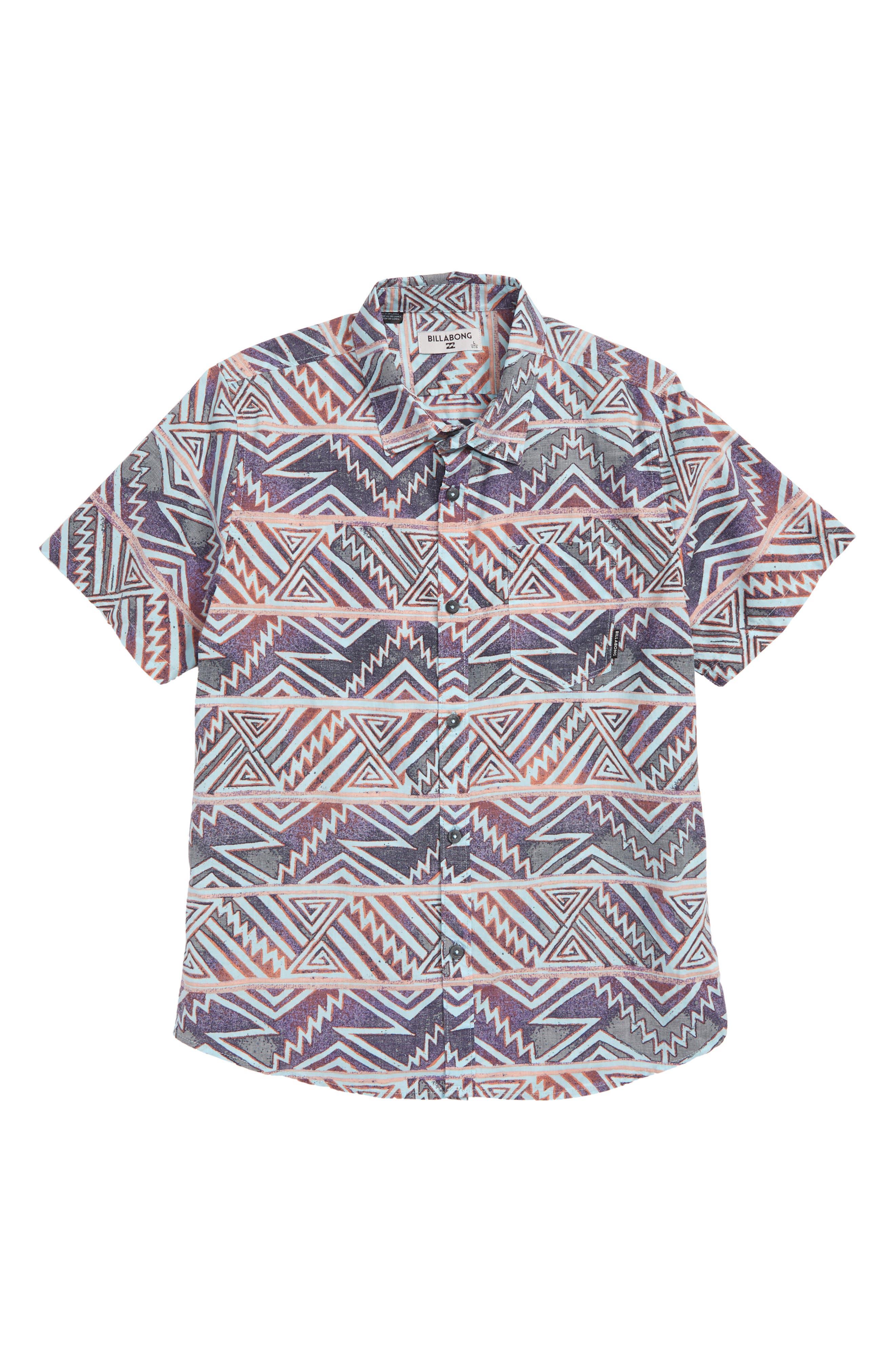 Sundays Floral Woven Shirt,                         Main,                         color, 520