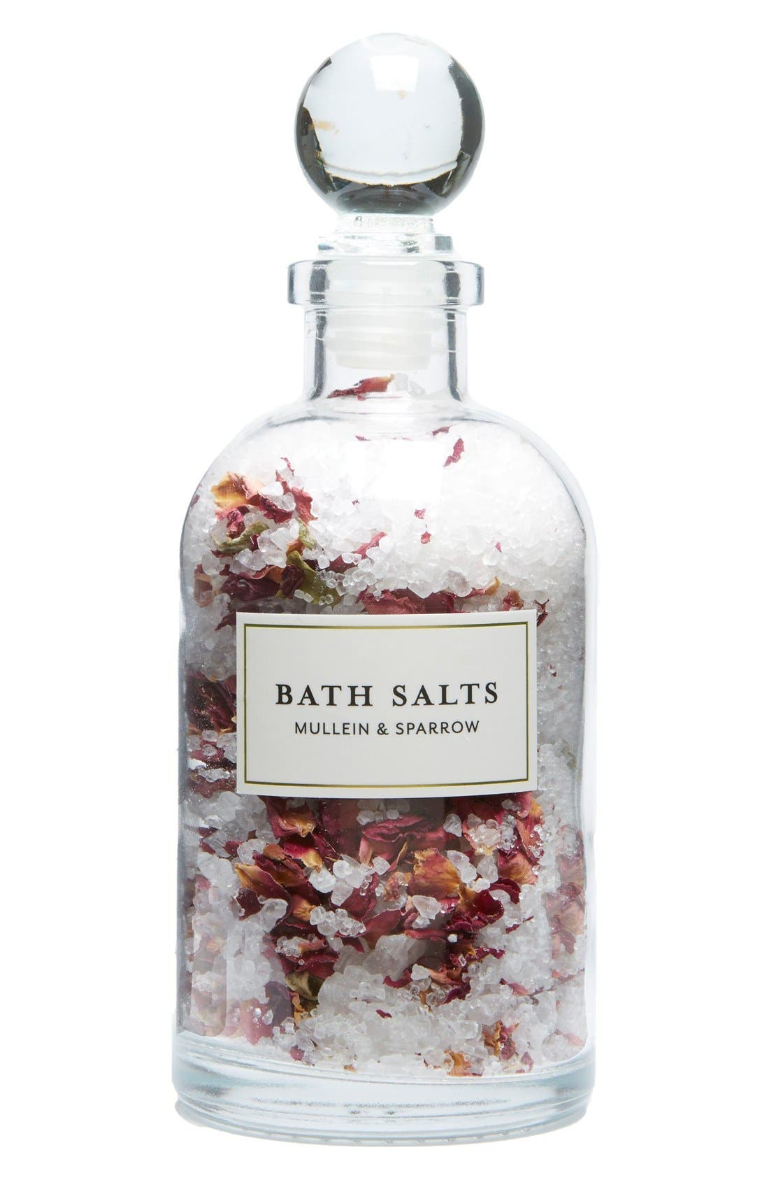Mini Bath Salts,                             Main thumbnail 1, color,                             ROSE BLOSSOM