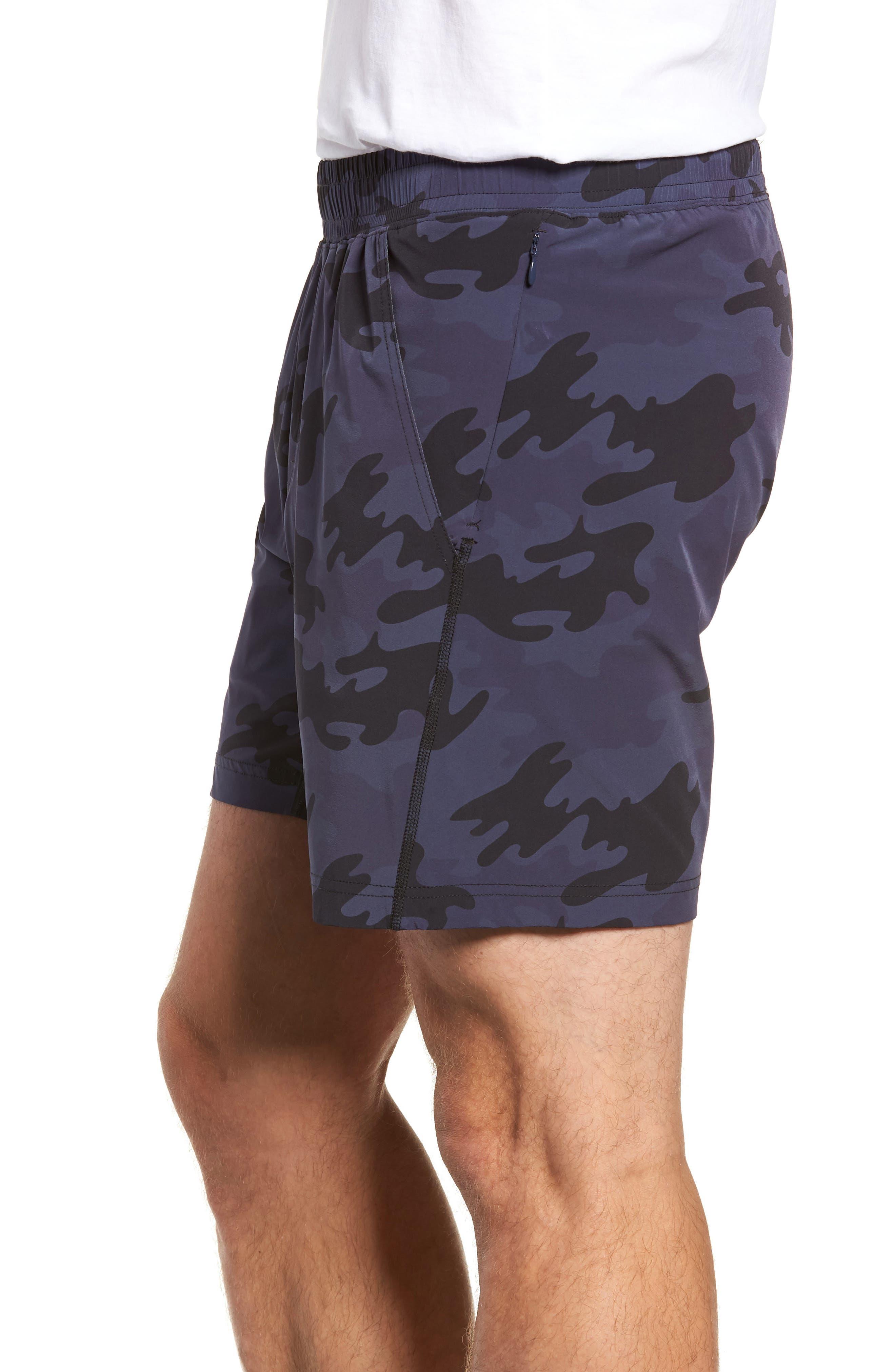 Mako Training Shorts,                             Alternate thumbnail 4, color,                             NAVY CAMO