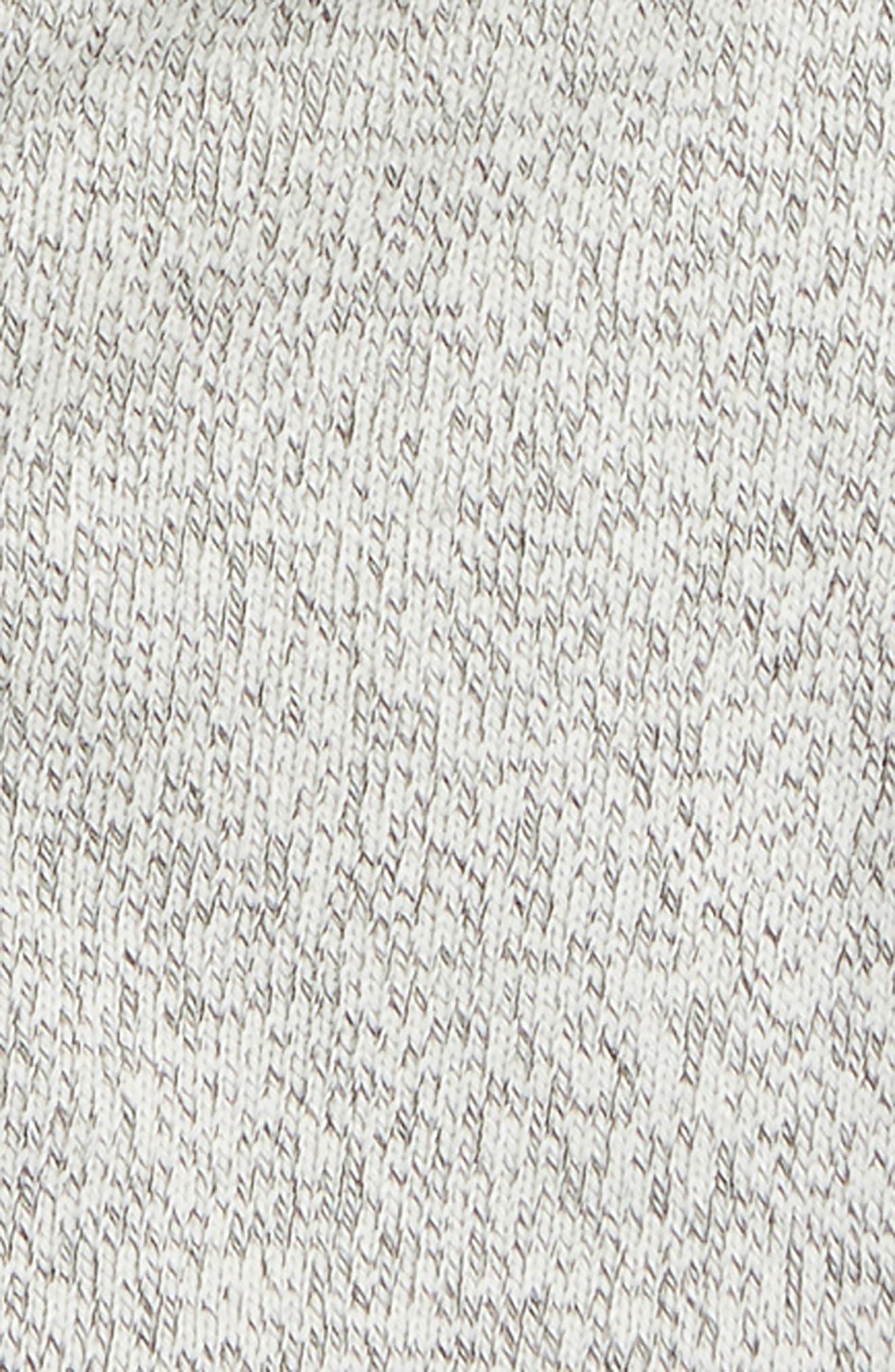 SPLENDID,                             Marled Fleece Full Zip Hoodie,                             Alternate thumbnail 2, color,                             FLINT GRAY