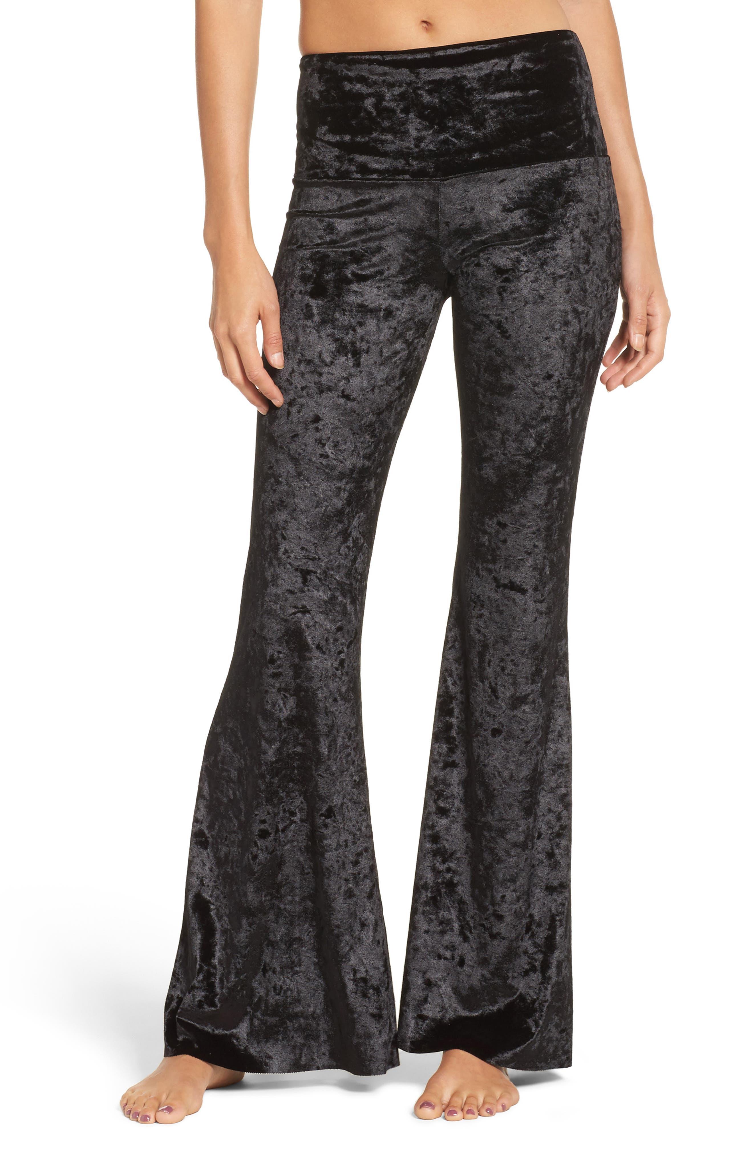 Flare Leg Yoga Pants,                         Main,                         color, 002